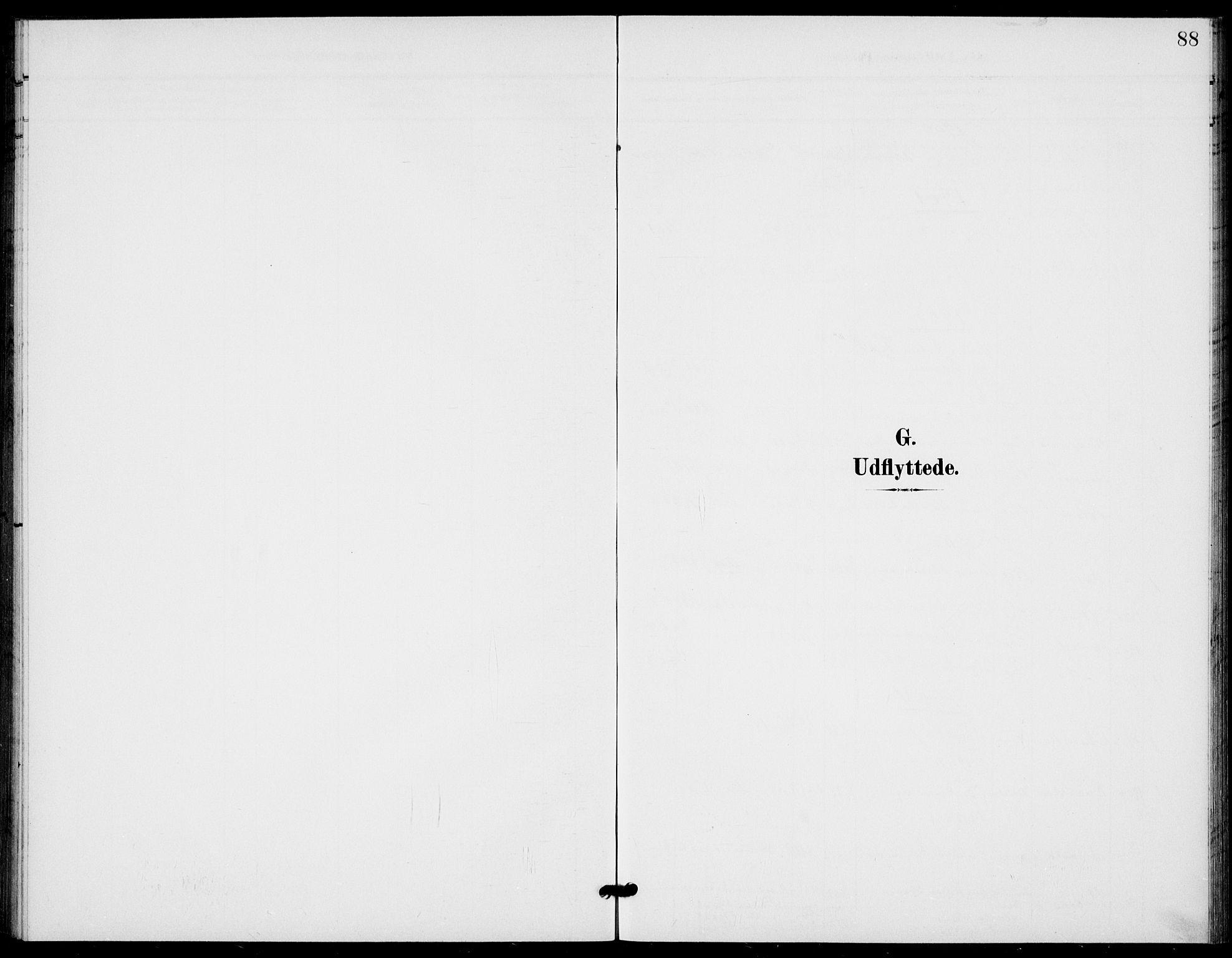 SAKO, Bamble kirkebøker, G/Gb/L0002: Klokkerbok nr. II 2, 1900-1925, s. 88