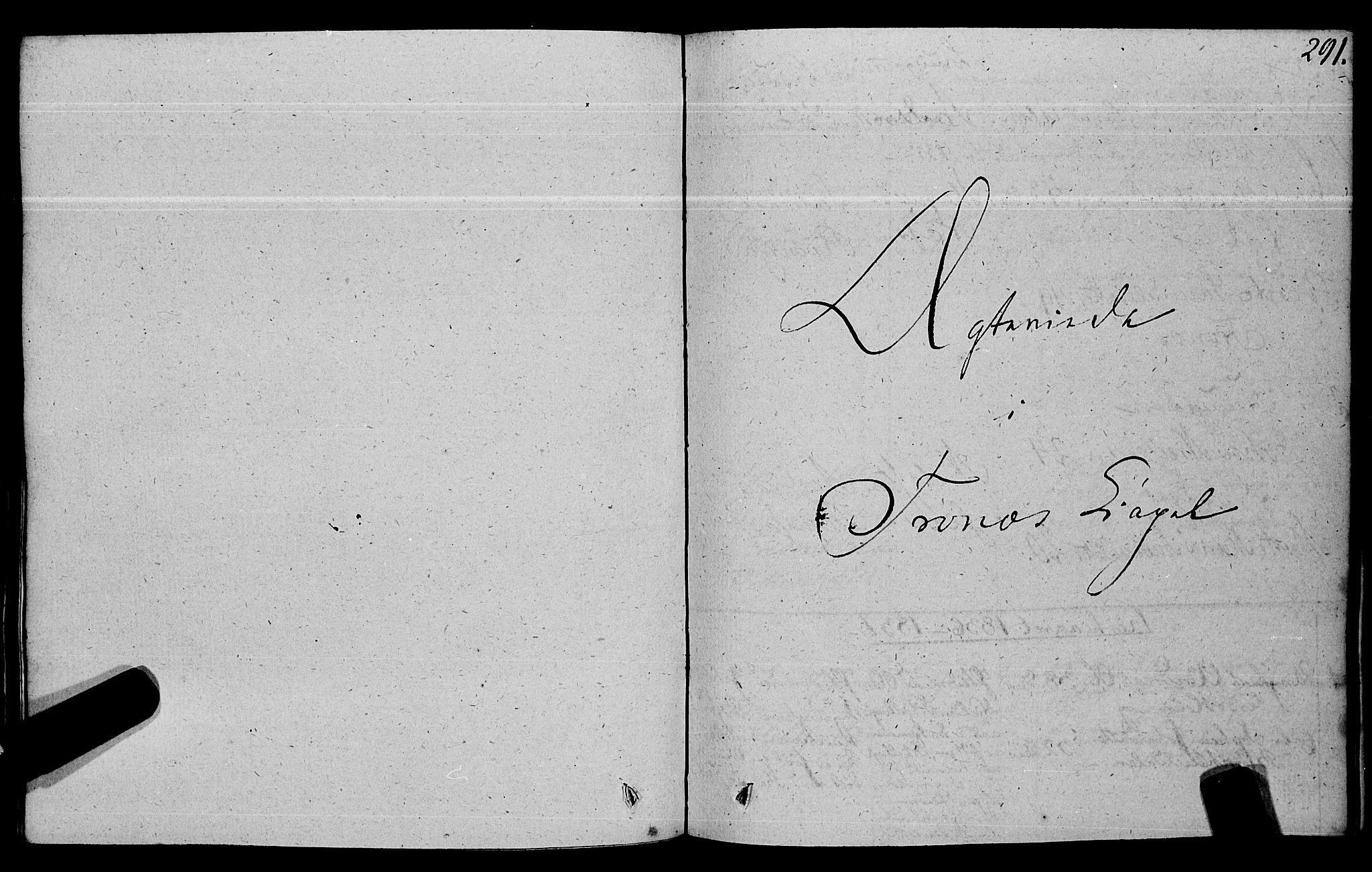 SAT, Ministerialprotokoller, klokkerbøker og fødselsregistre - Nord-Trøndelag, 762/L0538: Ministerialbok nr. 762A02 /2, 1833-1879, s. 291