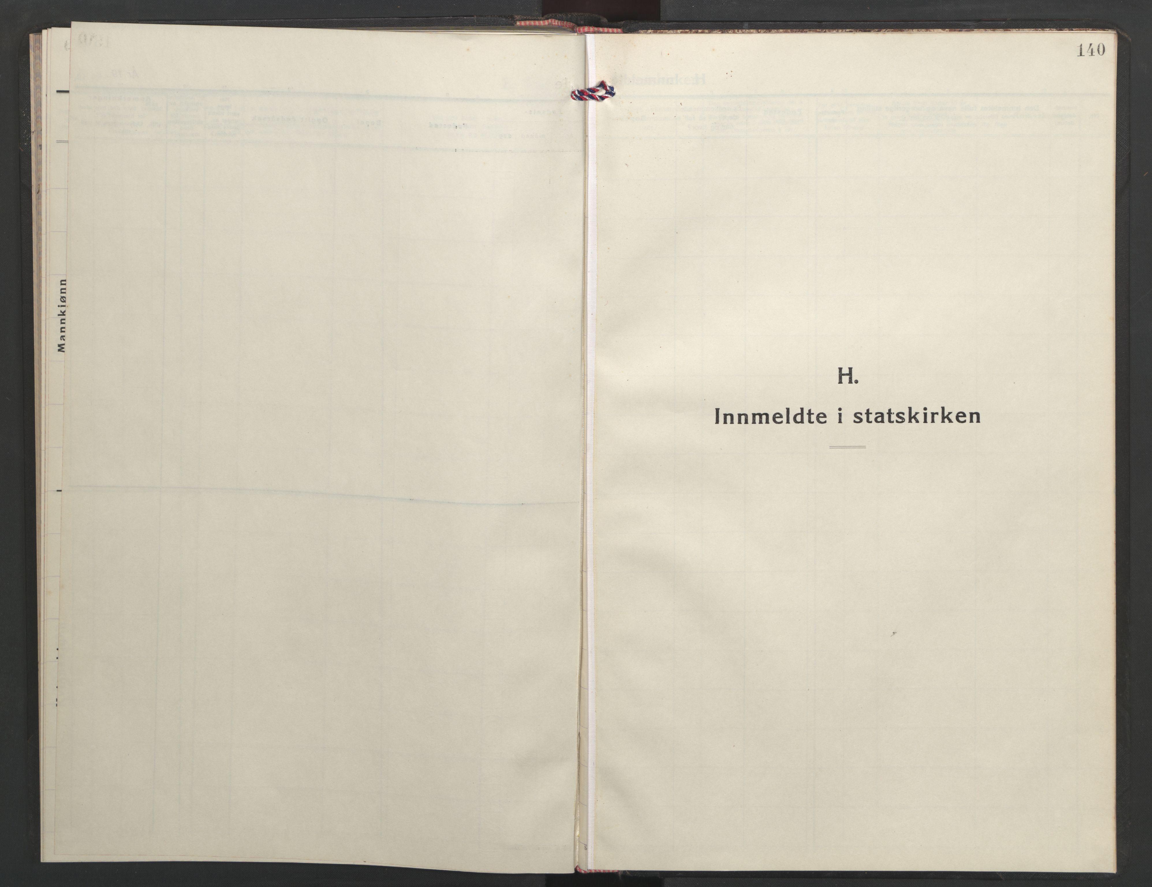 SAT, Ministerialprotokoller, klokkerbøker og fødselsregistre - Sør-Trøndelag, 635/L0556: Klokkerbok nr. 635C04, 1943-1945, s. 140