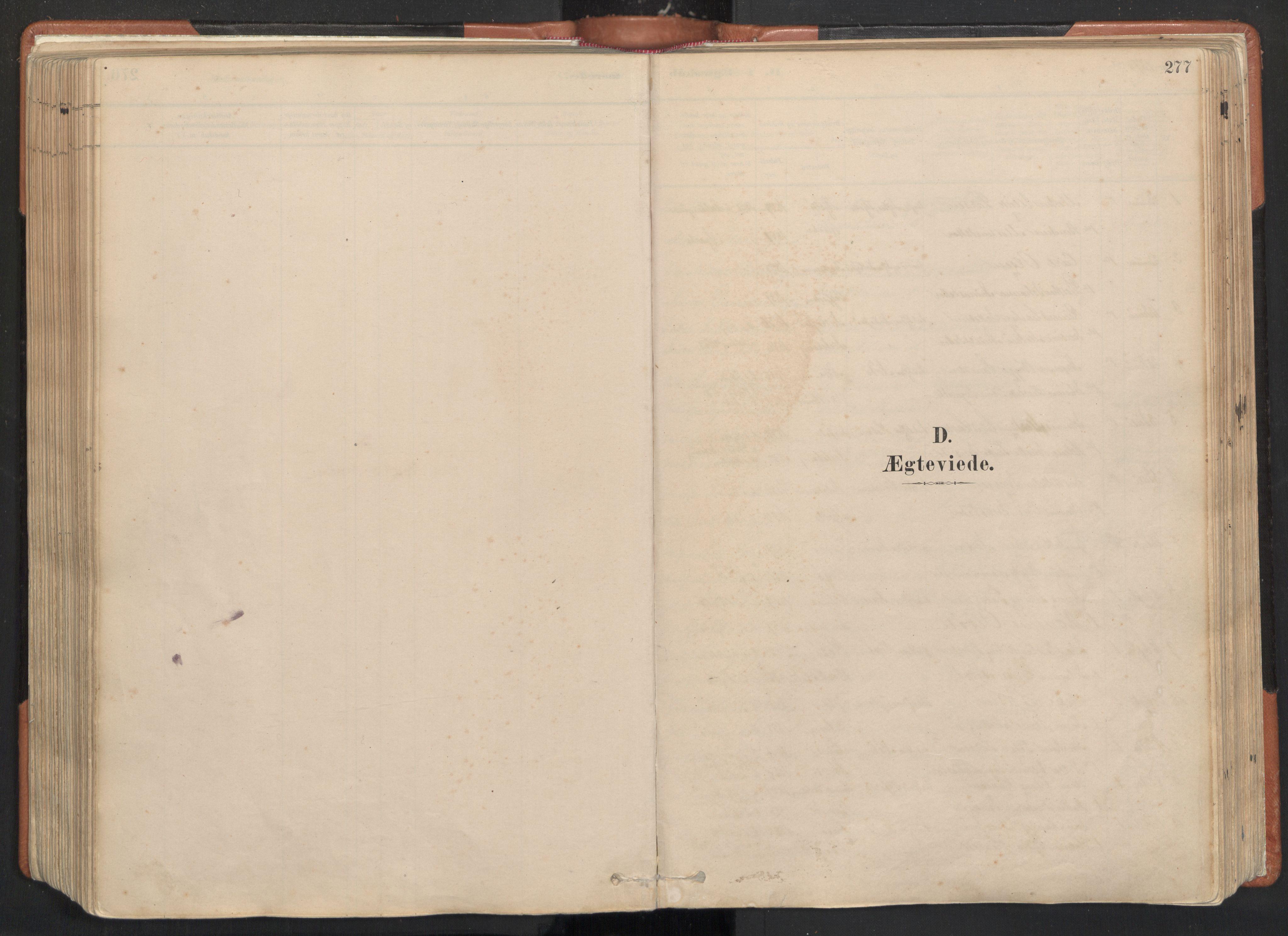 SAT, Ministerialprotokoller, klokkerbøker og fødselsregistre - Nordland, 817/L0264: Ministerialbok nr. 817A04, 1878-1907, s. 277