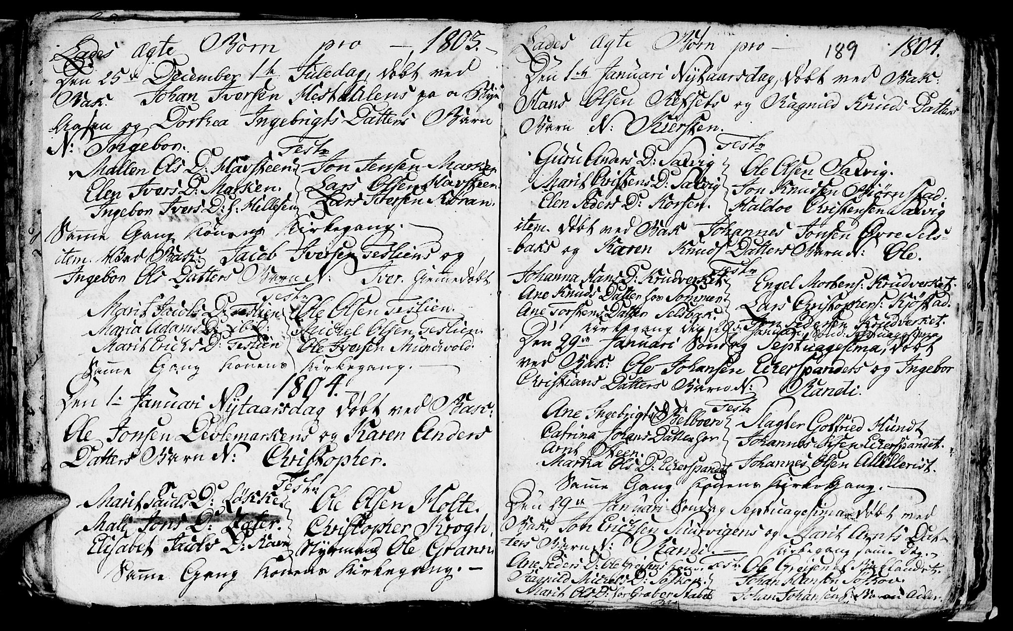 SAT, Ministerialprotokoller, klokkerbøker og fødselsregistre - Sør-Trøndelag, 606/L0305: Klokkerbok nr. 606C01, 1757-1819, s. 189