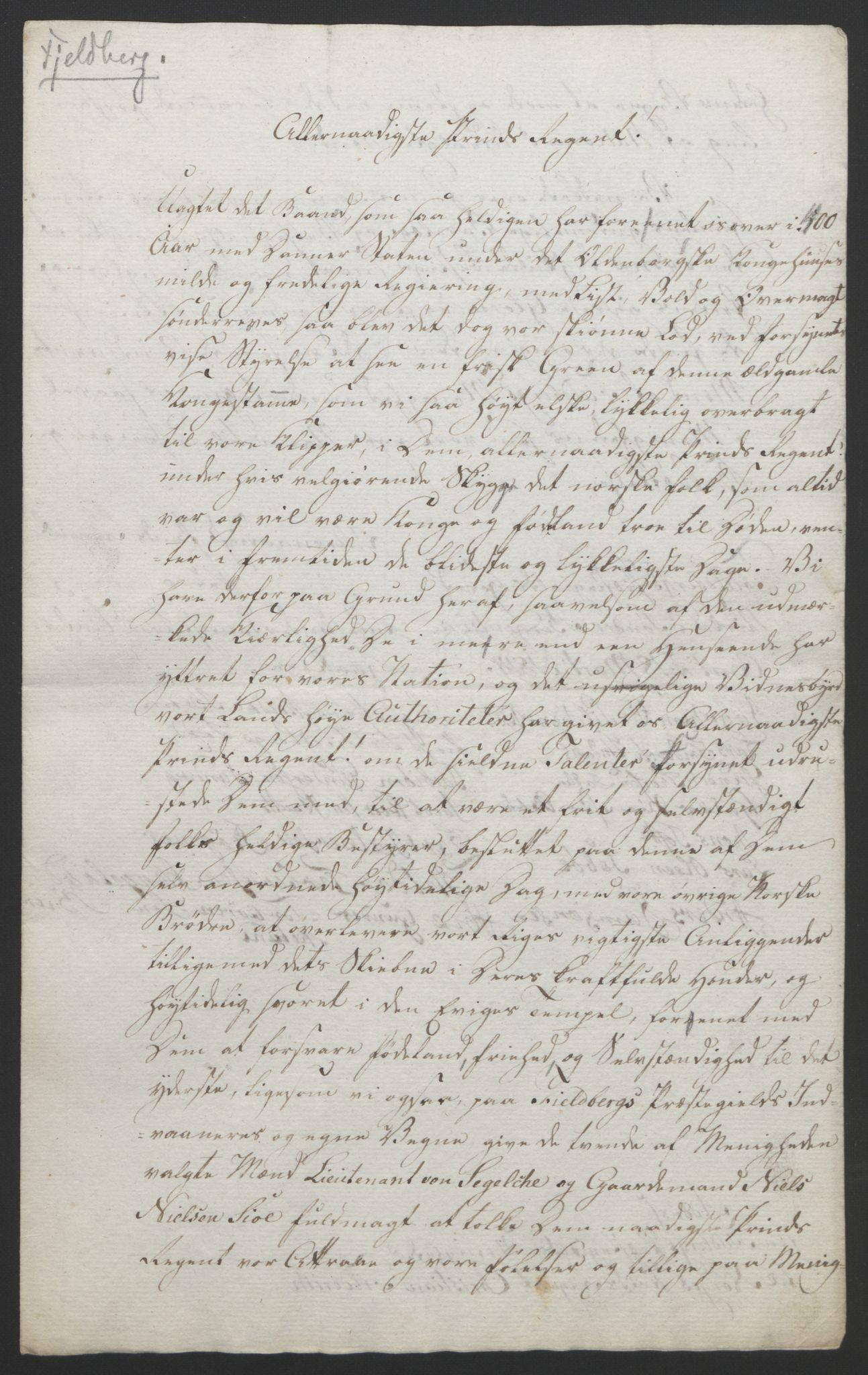 RA, Statsrådssekretariatet, D/Db/L0008: Fullmakter for Eidsvollsrepresentantene i 1814. , 1814, s. 275