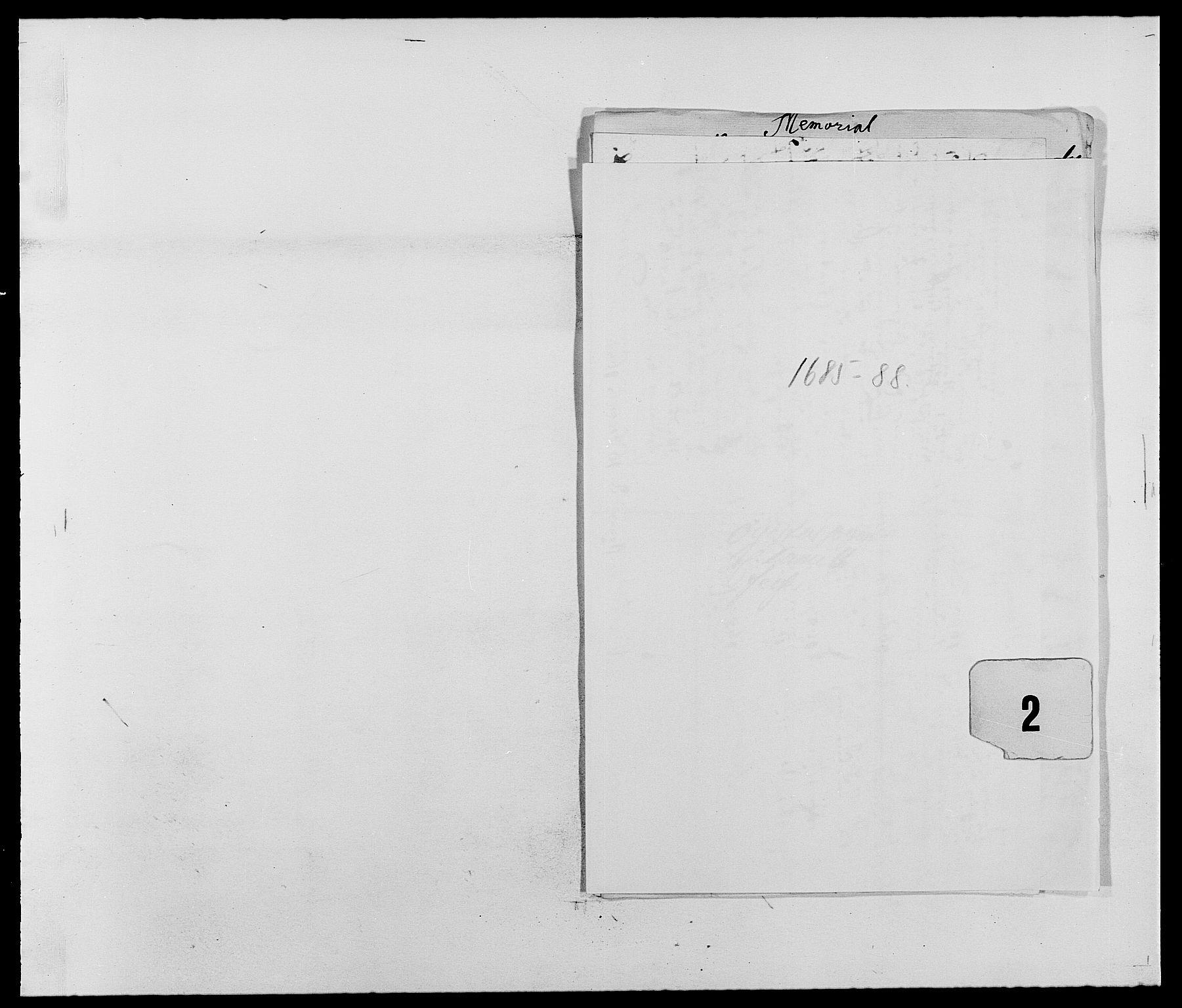 RA, Rentekammeret inntil 1814, Reviderte regnskaper, Fogderegnskap, R39/L2307: Fogderegnskap Nedenes, 1684-1689, s. 131