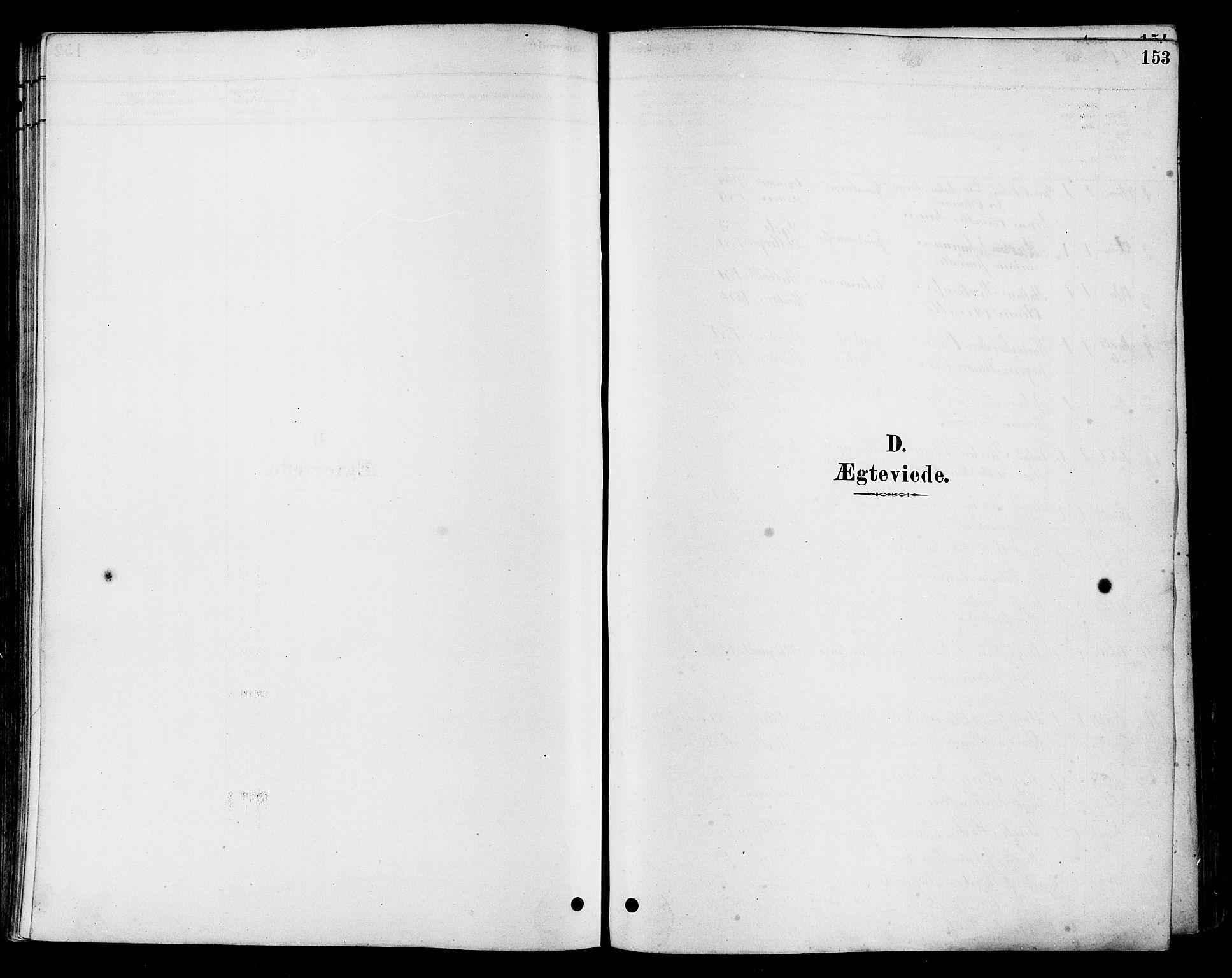 SAH, Vestre Toten prestekontor, Ministerialbok nr. 10, 1878-1894, s. 153