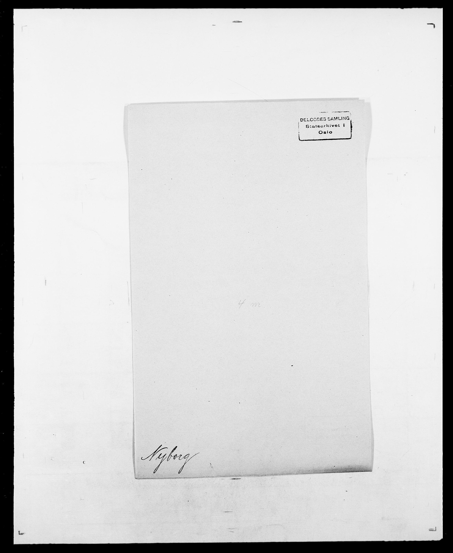 SAO, Delgobe, Charles Antoine - samling, D/Da/L0028: Naaden - Nøvik, s. 518