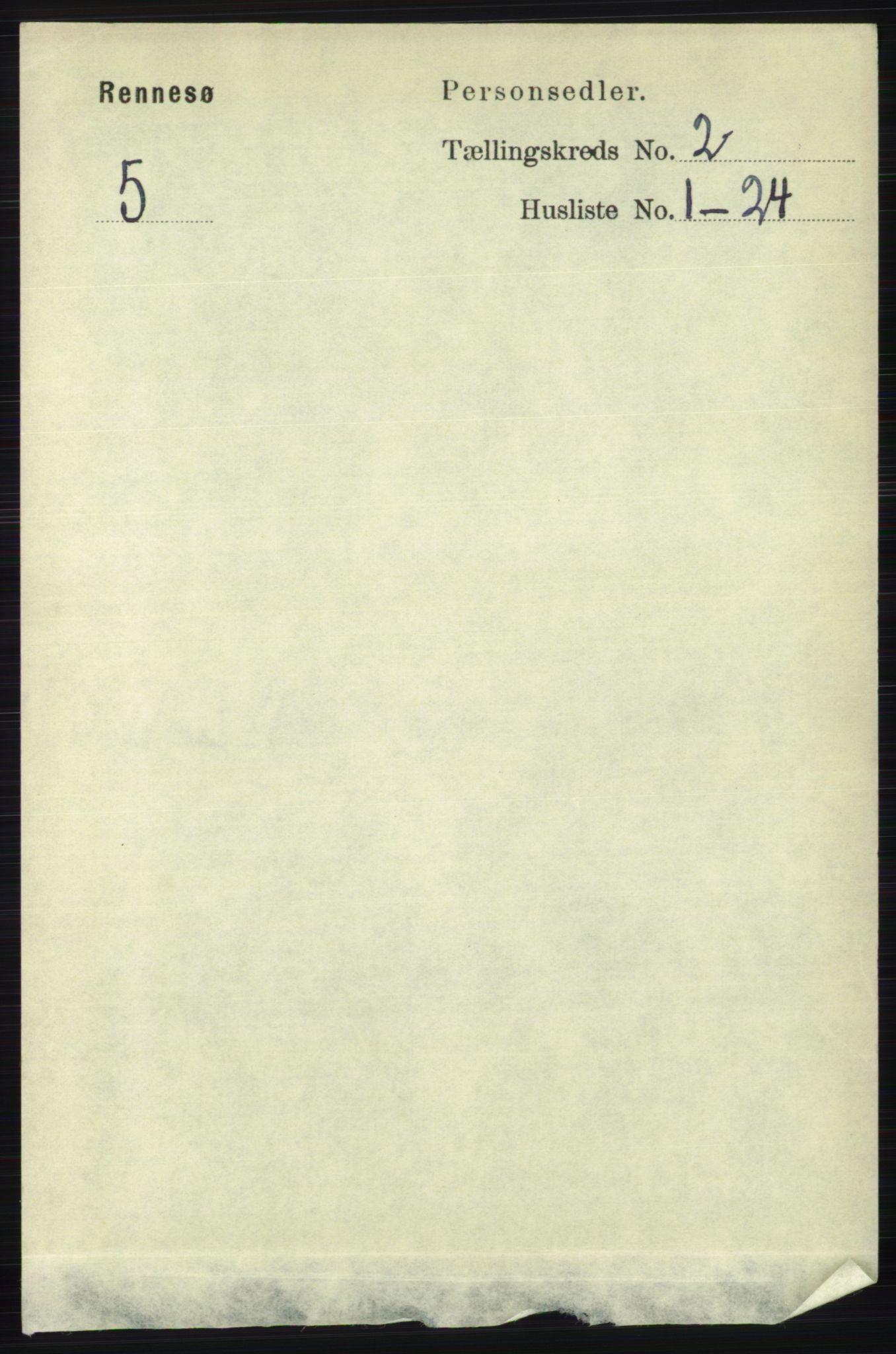 RA, Folketelling 1891 for 1142 Rennesøy herred, 1891, s. 454