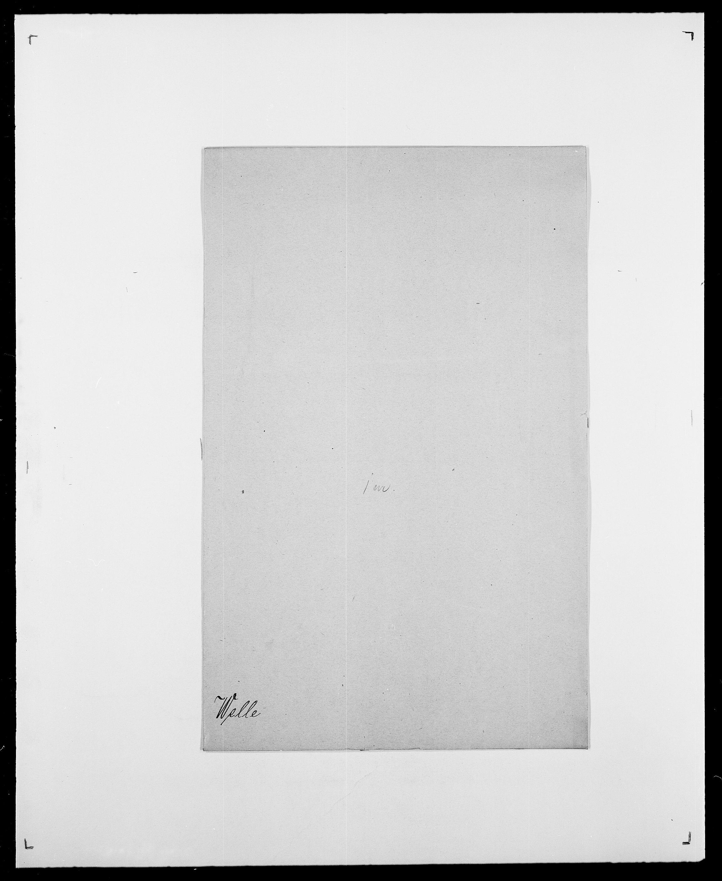 SAO, Delgobe, Charles Antoine - samling, D/Da/L0040: Usgaard - Velund, s. 755
