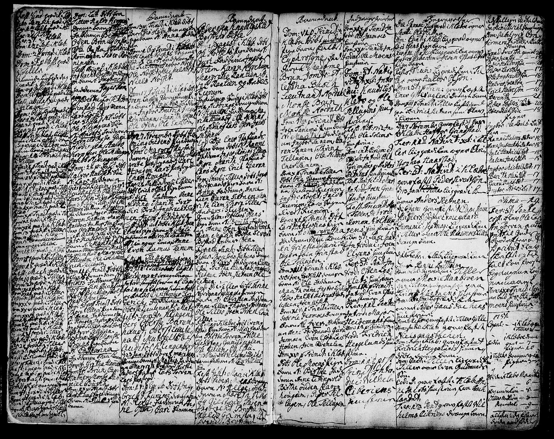 SAT, Ministerialprotokoller, klokkerbøker og fødselsregistre - Sør-Trøndelag, 618/L0437: Ministerialbok nr. 618A02, 1749-1782, s. 3