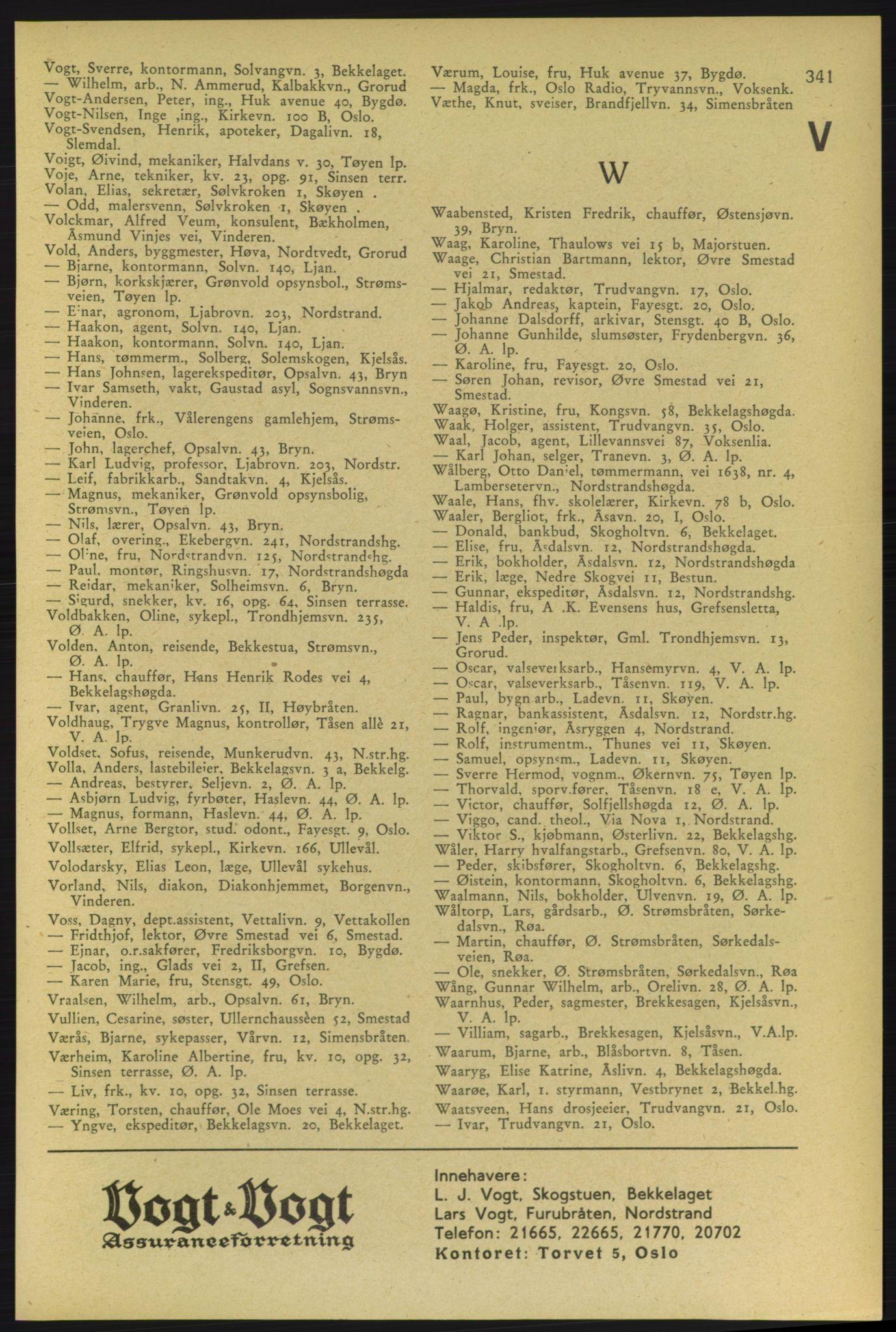PUBL, Aker adressebok/adressekalender, 1937-1938, s. 341