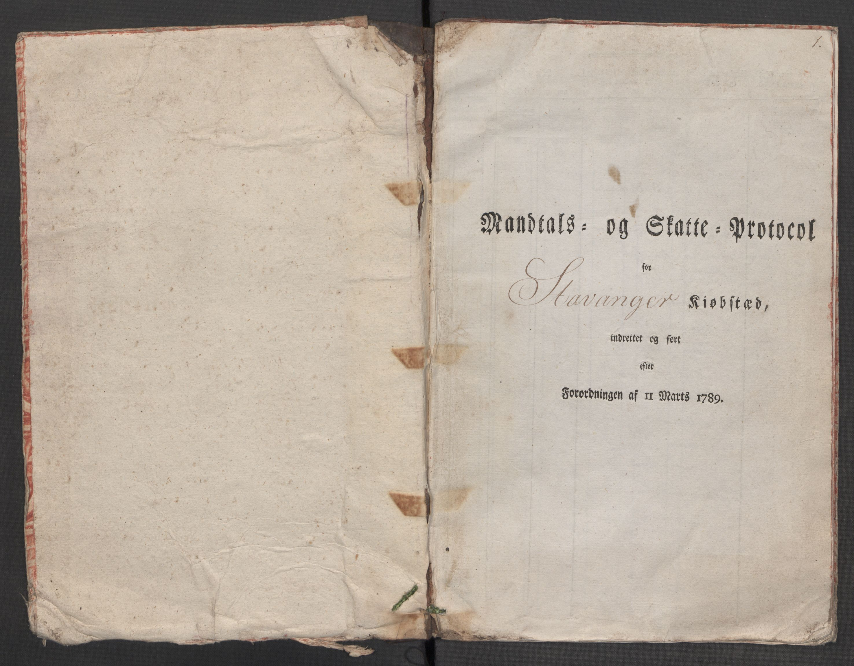 RA, Rentekammeret inntil 1814, Reviderte regnskaper, Mindre regnskaper, Rf/Rfe/L0045: Stavanger, Stjørdal og Verdal fogderi, 1789, s. 39