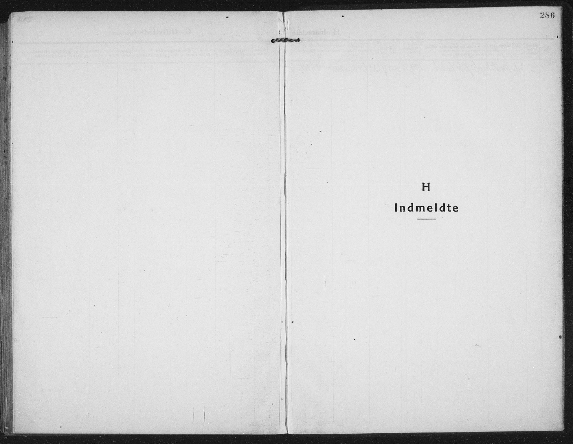 SAT, Ministerialprotokoller, klokkerbøker og fødselsregistre - Nord-Trøndelag, 709/L0083: Ministerialbok nr. 709A23, 1916-1928, s. 286