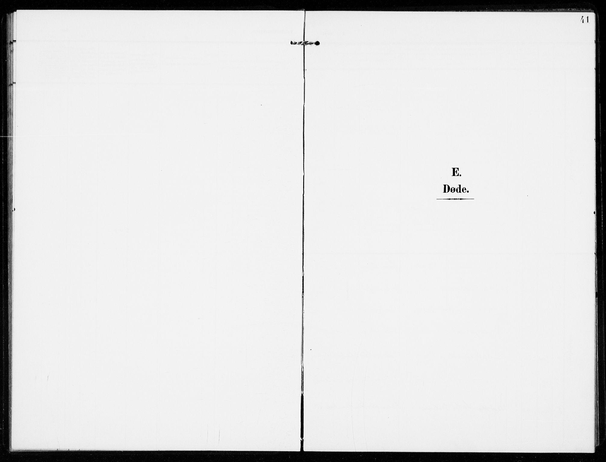 SAKO, Sandar kirkebøker, F/Fa/L0019: Ministerialbok nr. 19, 1908-1914, s. 41
