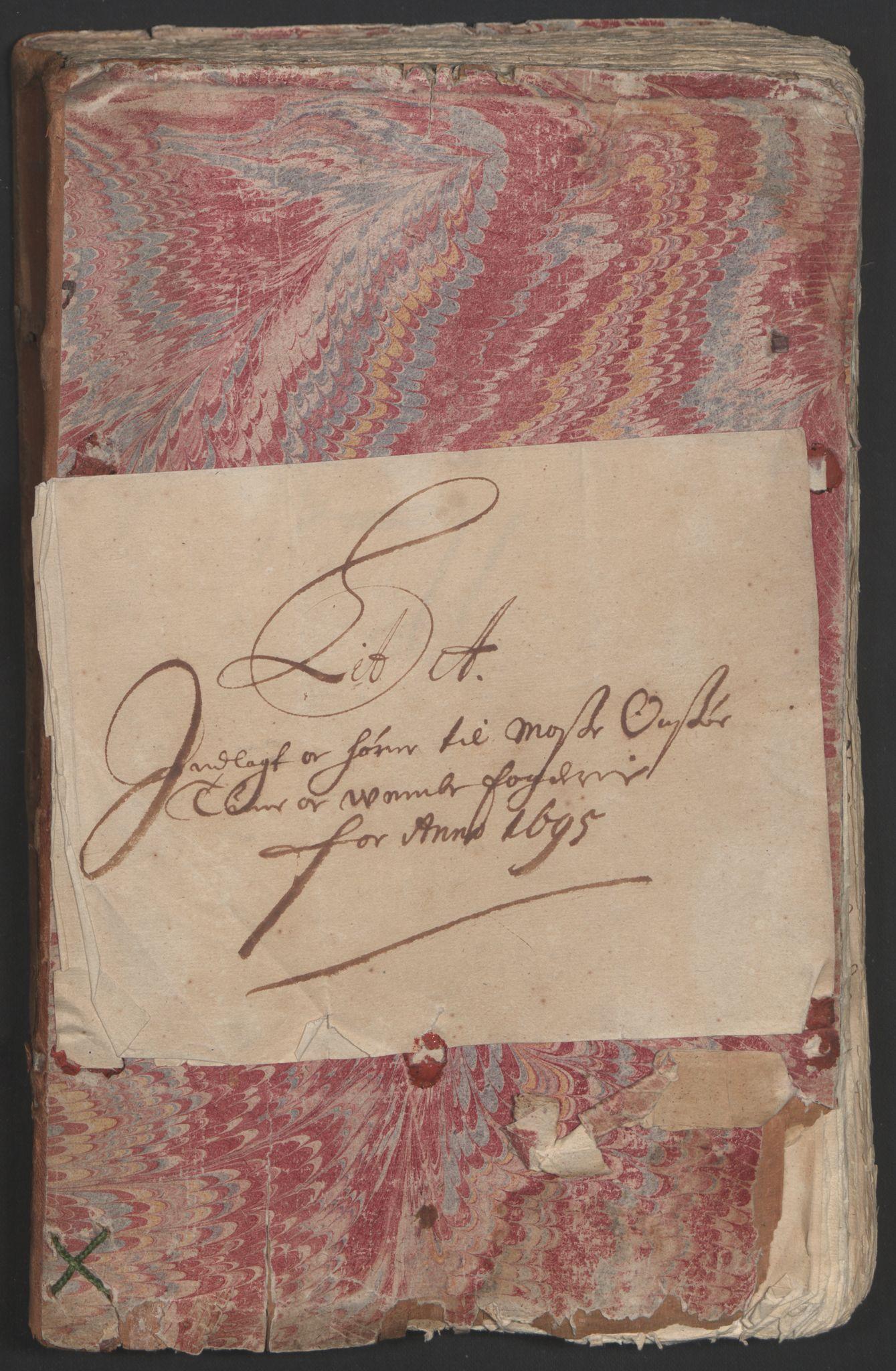 RA, Rentekammeret inntil 1814, Reviderte regnskaper, Fogderegnskap, R04/L0122: Fogderegnskap Moss, Onsøy, Tune, Veme og Åbygge, 1695, s. 31