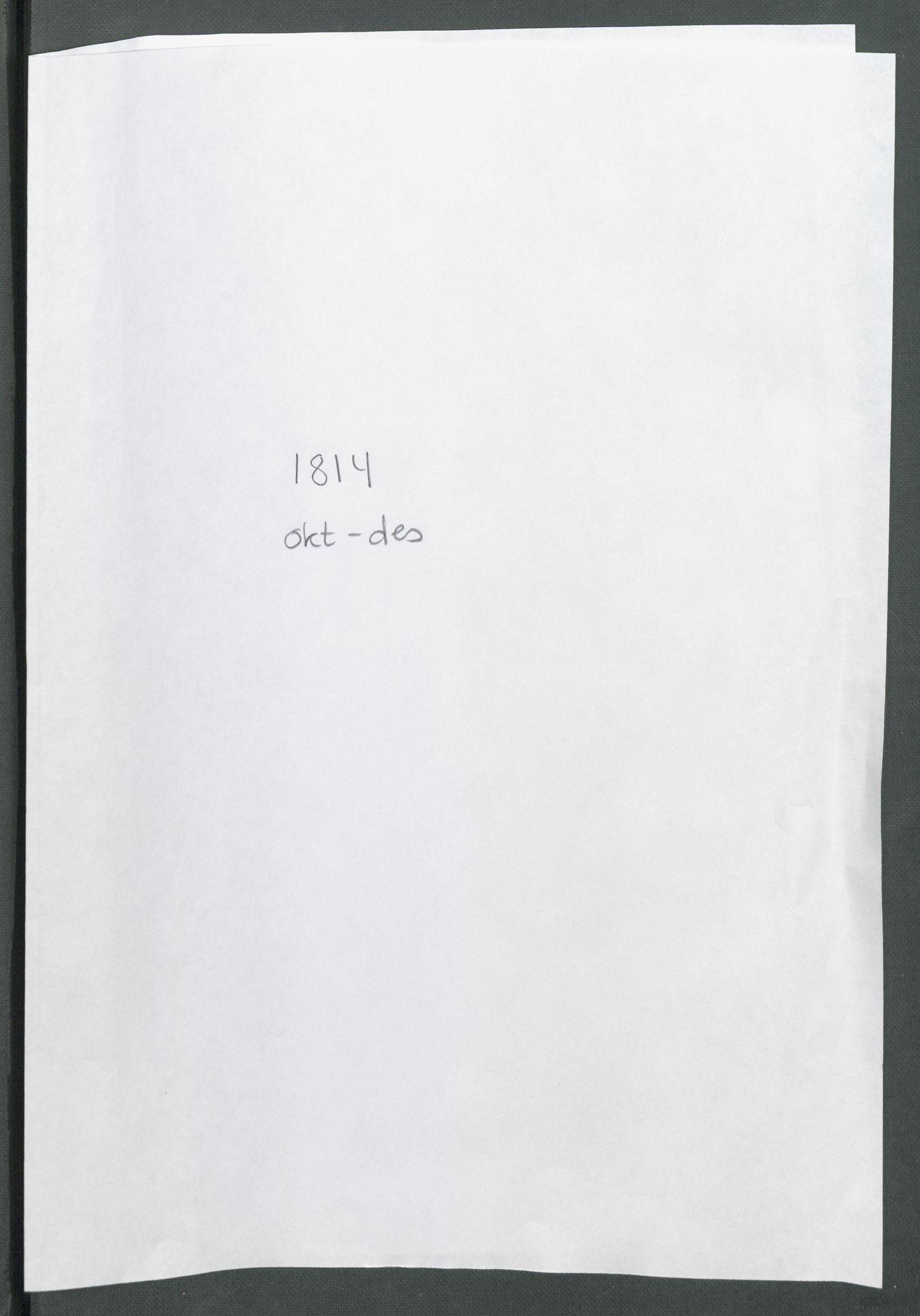 RA, Forskjellige samlinger, Historisk-kronologisk samling, G/Ga/L0009B: Historisk-kronologisk samling. Dokumenter fra oktober 1814, årene 1815 og 1816, Christian Frederiks regnskapsbok 1814 - 1848., 1814-1848, s. 1