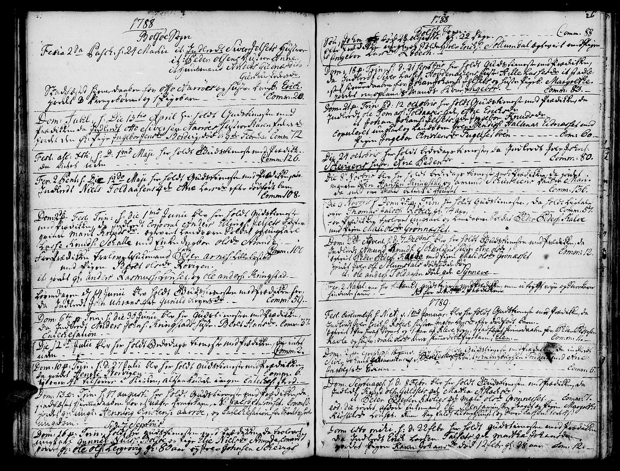 SAT, Ministerialprotokoller, klokkerbøker og fødselsregistre - Møre og Romsdal, 555/L0648: Ministerialbok nr. 555A01, 1759-1793, s. 26