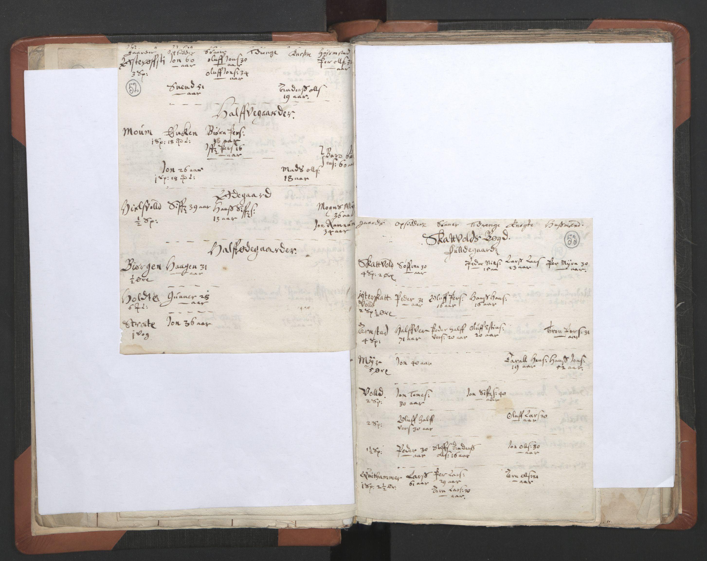 RA, Sogneprestenes manntall 1664-1666, nr. 32: Innherad prosti, 1664-1666, s. 52-53