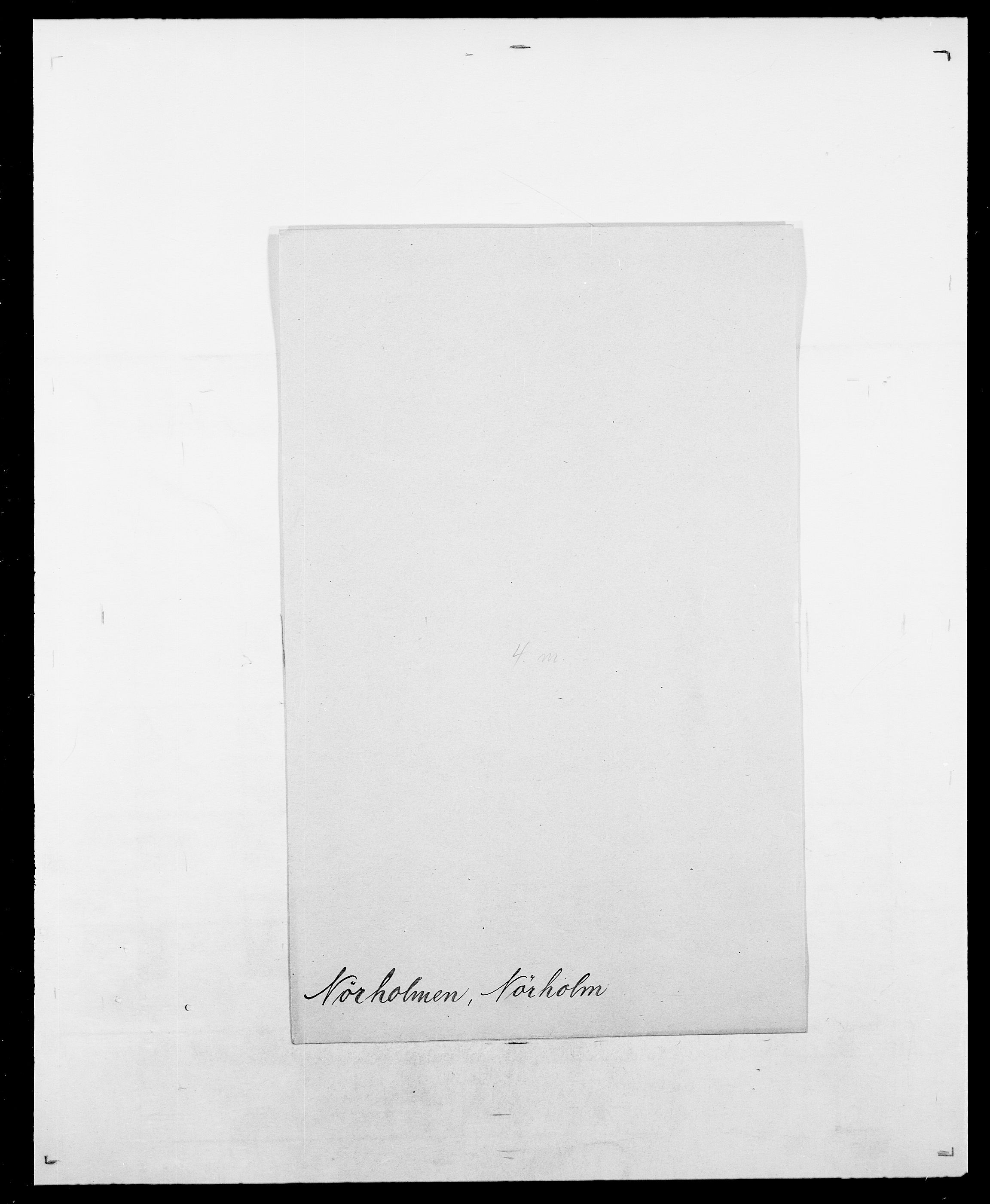 SAO, Delgobe, Charles Antoine - samling, D/Da/L0028: Naaden - Nøvik, s. 653