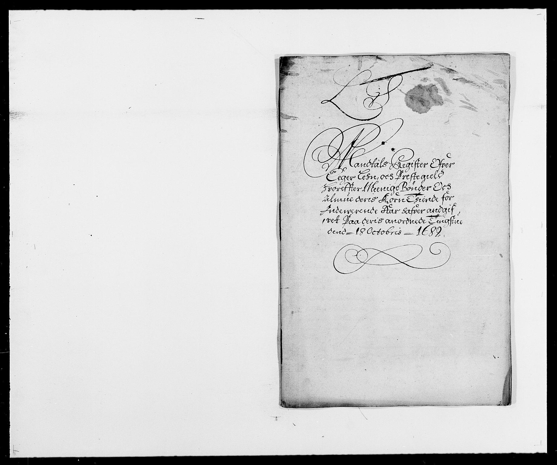 RA, Rentekammeret inntil 1814, Reviderte regnskaper, Fogderegnskap, R26/L1684: Fogderegnskap Eiker, 1679-1686, s. 255