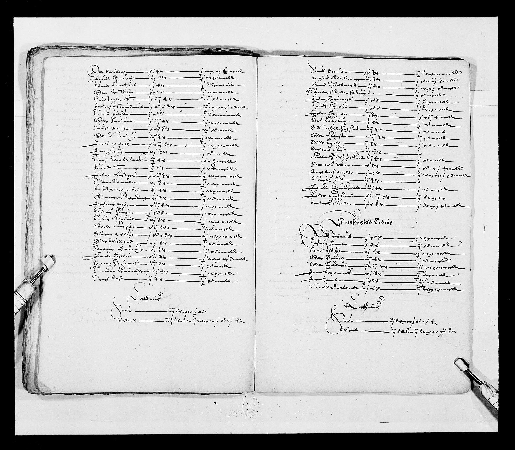 RA, Stattholderembetet 1572-1771, Ek/L0028: Jordebøker 1633-1658:, 1645-1646, s. 111
