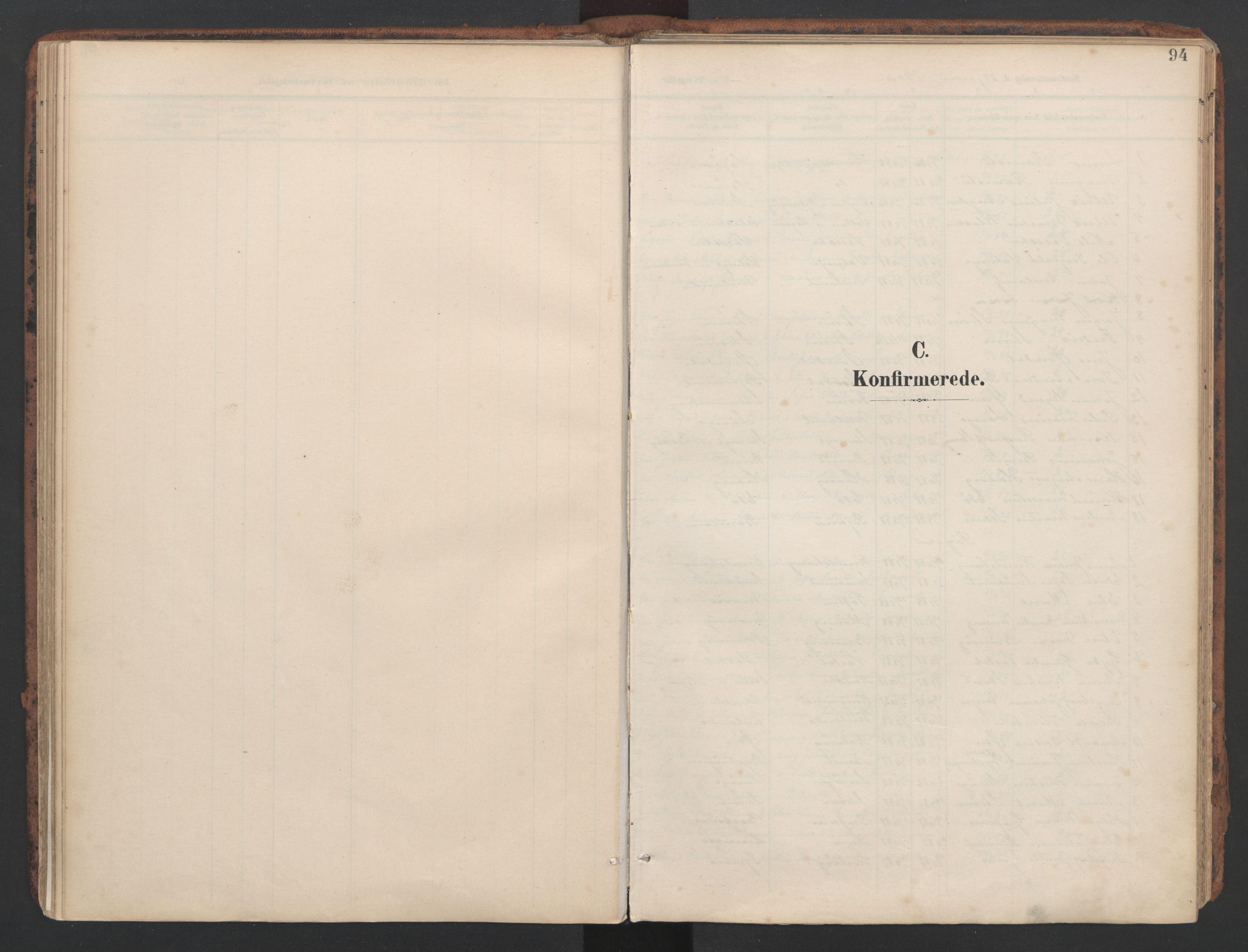 SAT, Ministerialprotokoller, klokkerbøker og fødselsregistre - Sør-Trøndelag, 634/L0537: Ministerialbok nr. 634A13, 1896-1922, s. 94