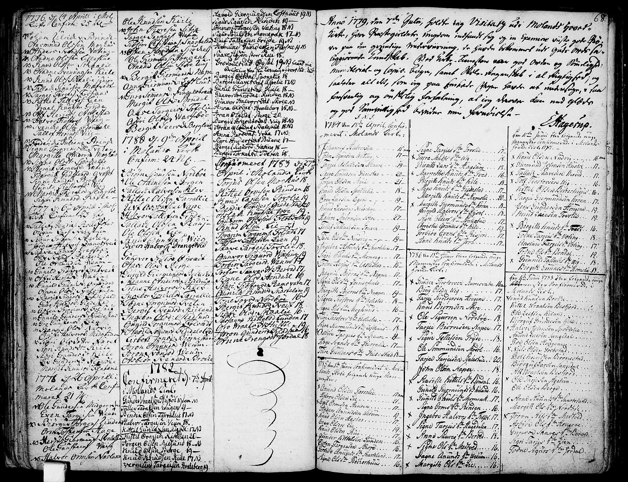SAKO, Fyresdal kirkebøker, F/Fa/L0002: Ministerialbok nr. I 2, 1769-1814, s. 68