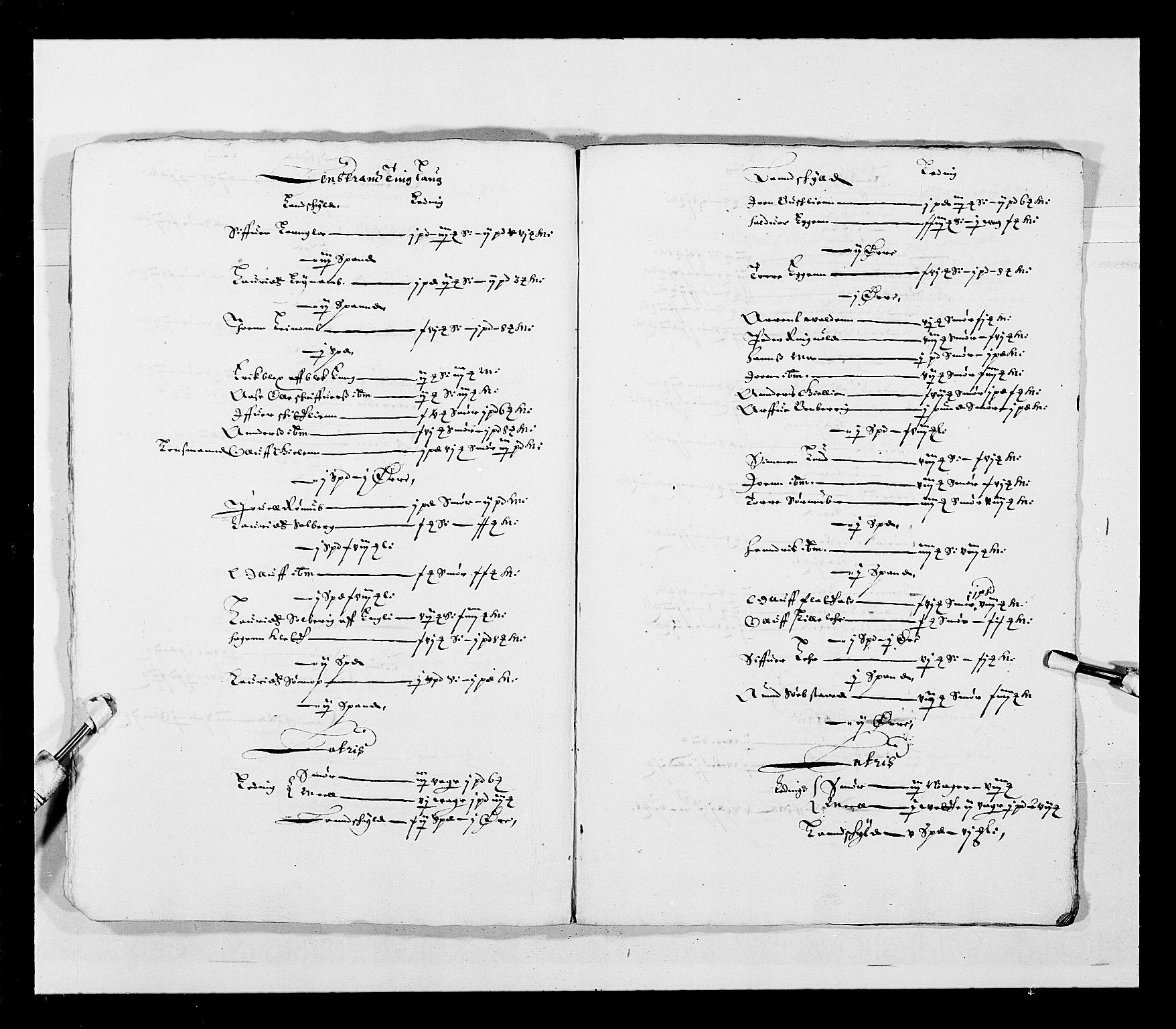 RA, Stattholderembetet 1572-1771, Ek/L0028: Jordebøker 1633-1658:, 1645-1646, s. 170
