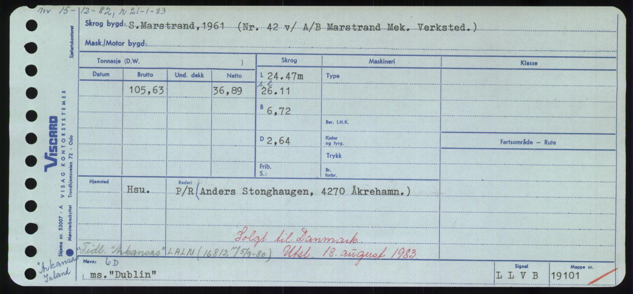 RA, Sjøfartsdirektoratet med forløpere, Skipsmålingen, H/Hd/L0008: Fartøy, C-D, s. 679
