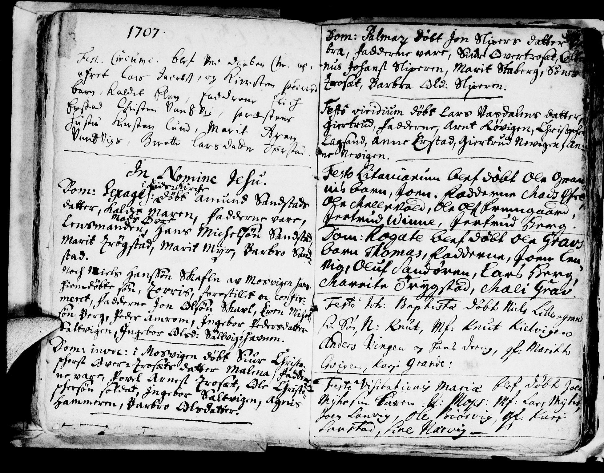 SAT, Ministerialprotokoller, klokkerbøker og fødselsregistre - Nord-Trøndelag, 722/L0214: Ministerialbok nr. 722A01, 1692-1718, s. 44