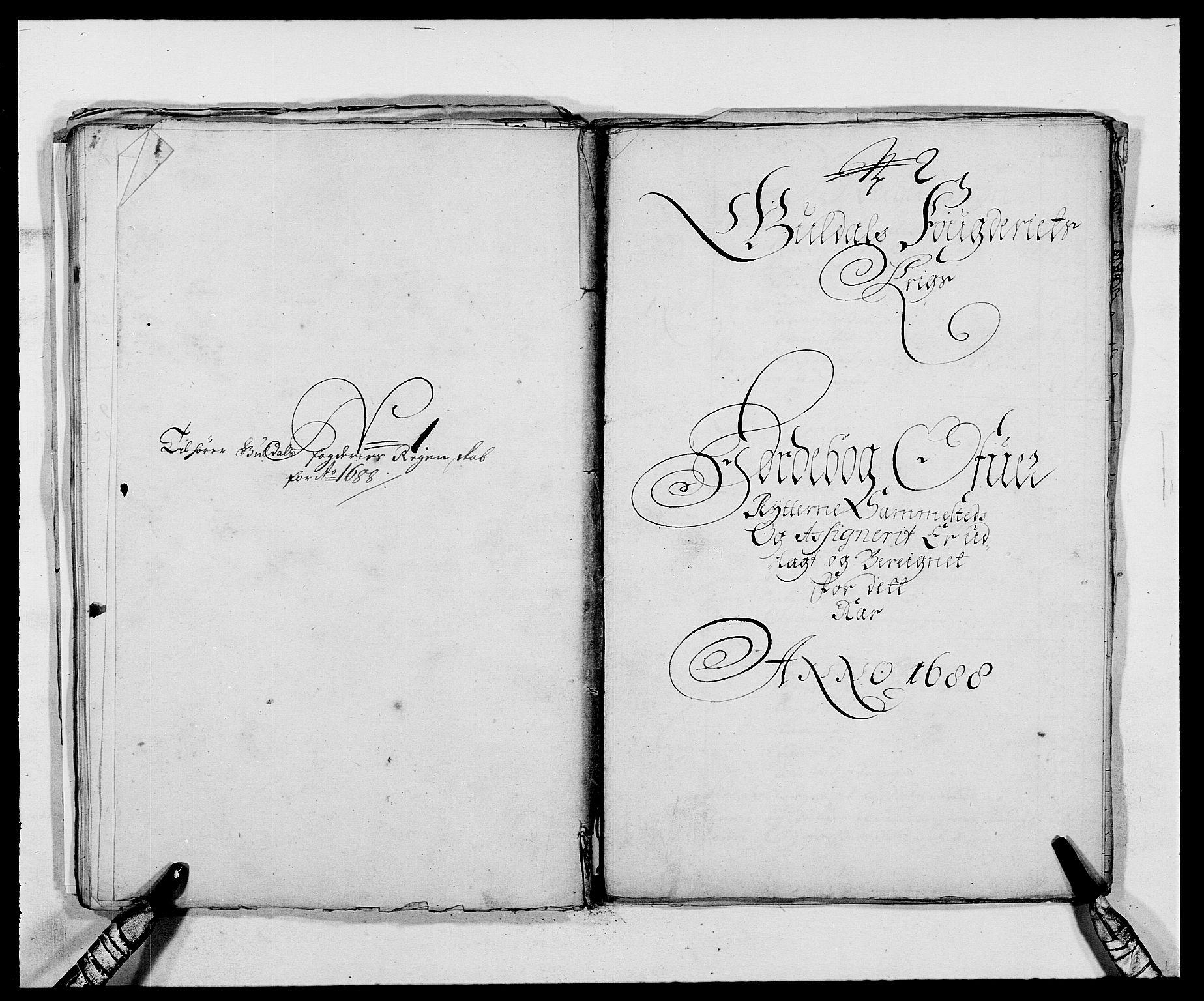 RA, Rentekammeret inntil 1814, Reviderte regnskaper, Fogderegnskap, R59/L3939: Fogderegnskap Gauldal, 1687-1688, s. 330