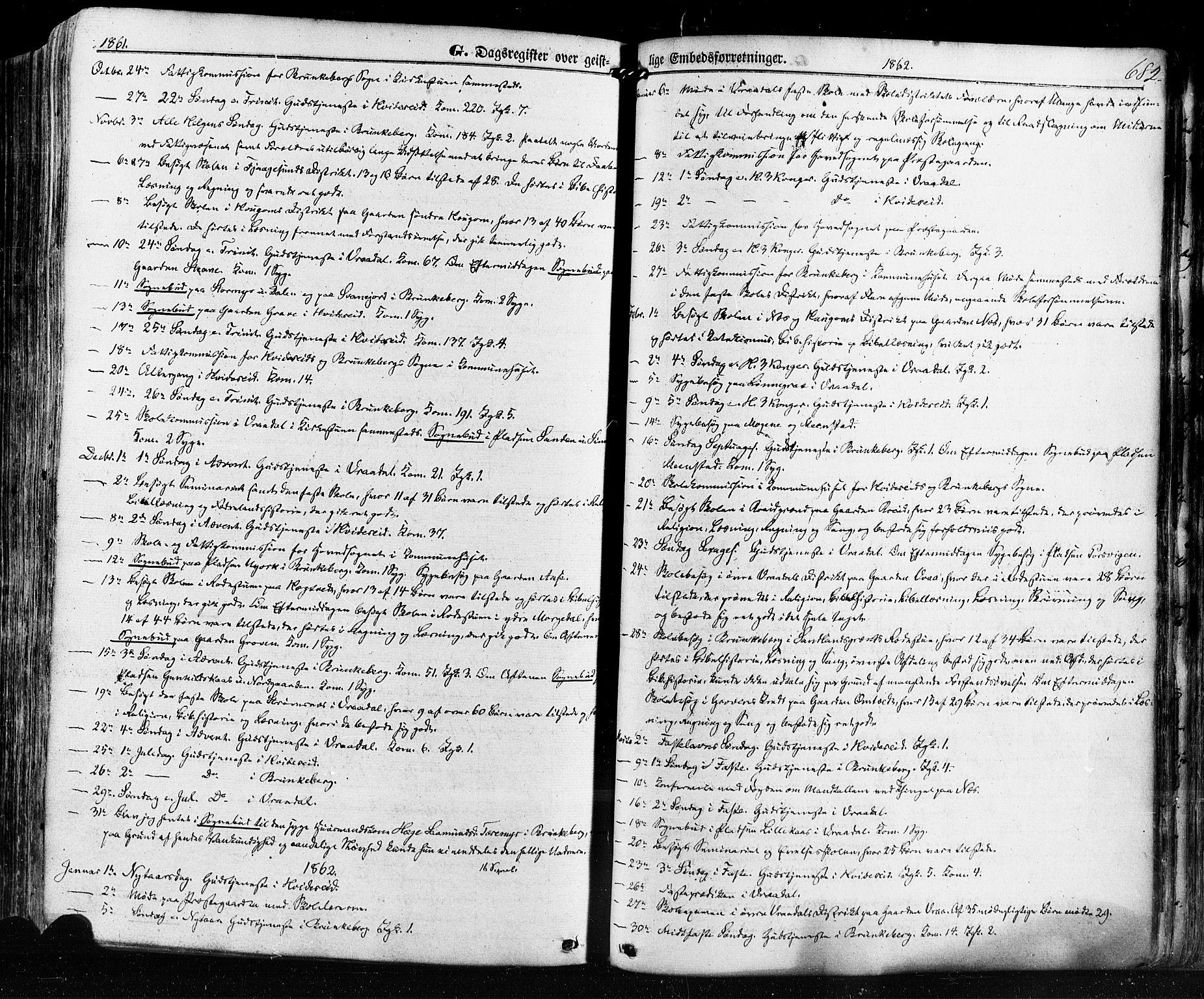 SAKO, Kviteseid kirkebøker, F/Fa/L0007: Ministerialbok nr. I 7, 1859-1881, s. 682