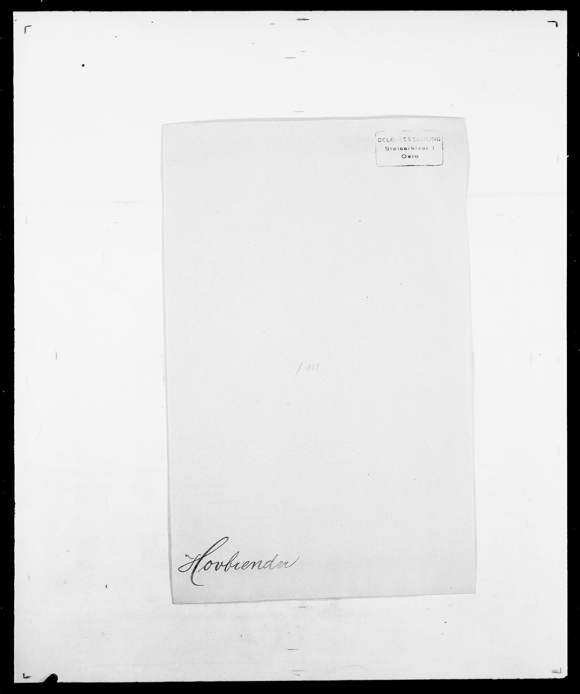 SAO, Delgobe, Charles Antoine - samling, D/Da/L0018: Hoch - Howert, s. 1035