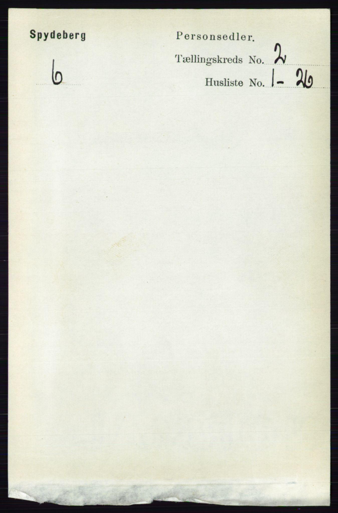 RA, Folketelling 1891 for 0123 Spydeberg herred, 1891, s. 695