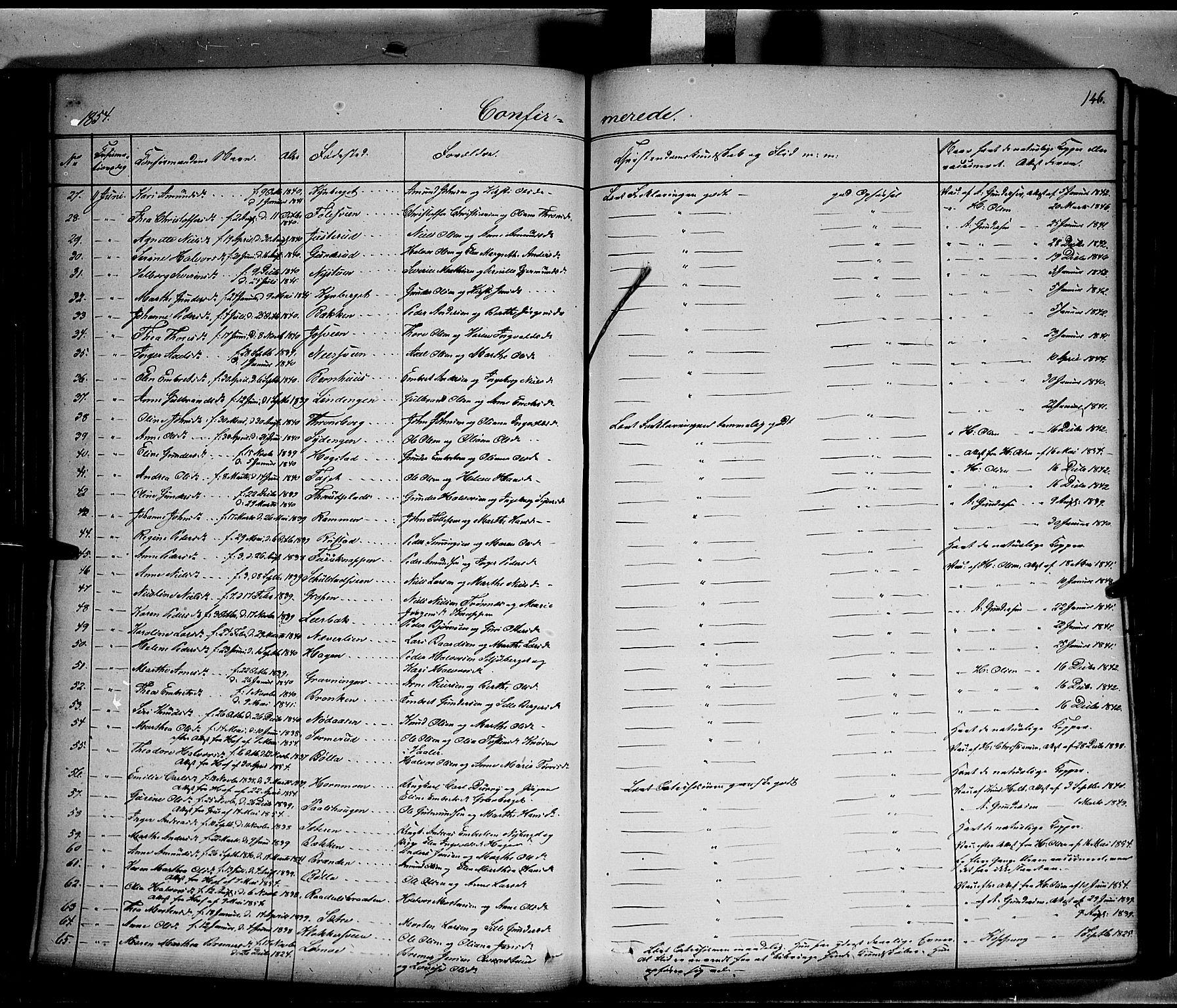 SAH, Elverum prestekontor, H/Ha/Haa/L0009: Ministerialbok nr. 9, 1843-1856, s. 146