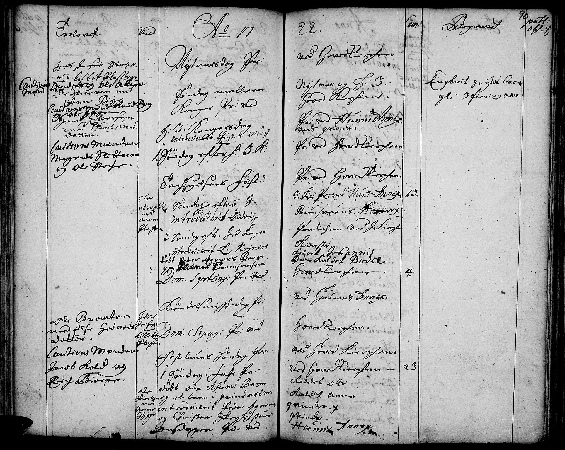SAH, Vardal prestekontor, H/Ha/Haa/L0001: Ministerialbok nr. 1, 1706-1748, s. 90