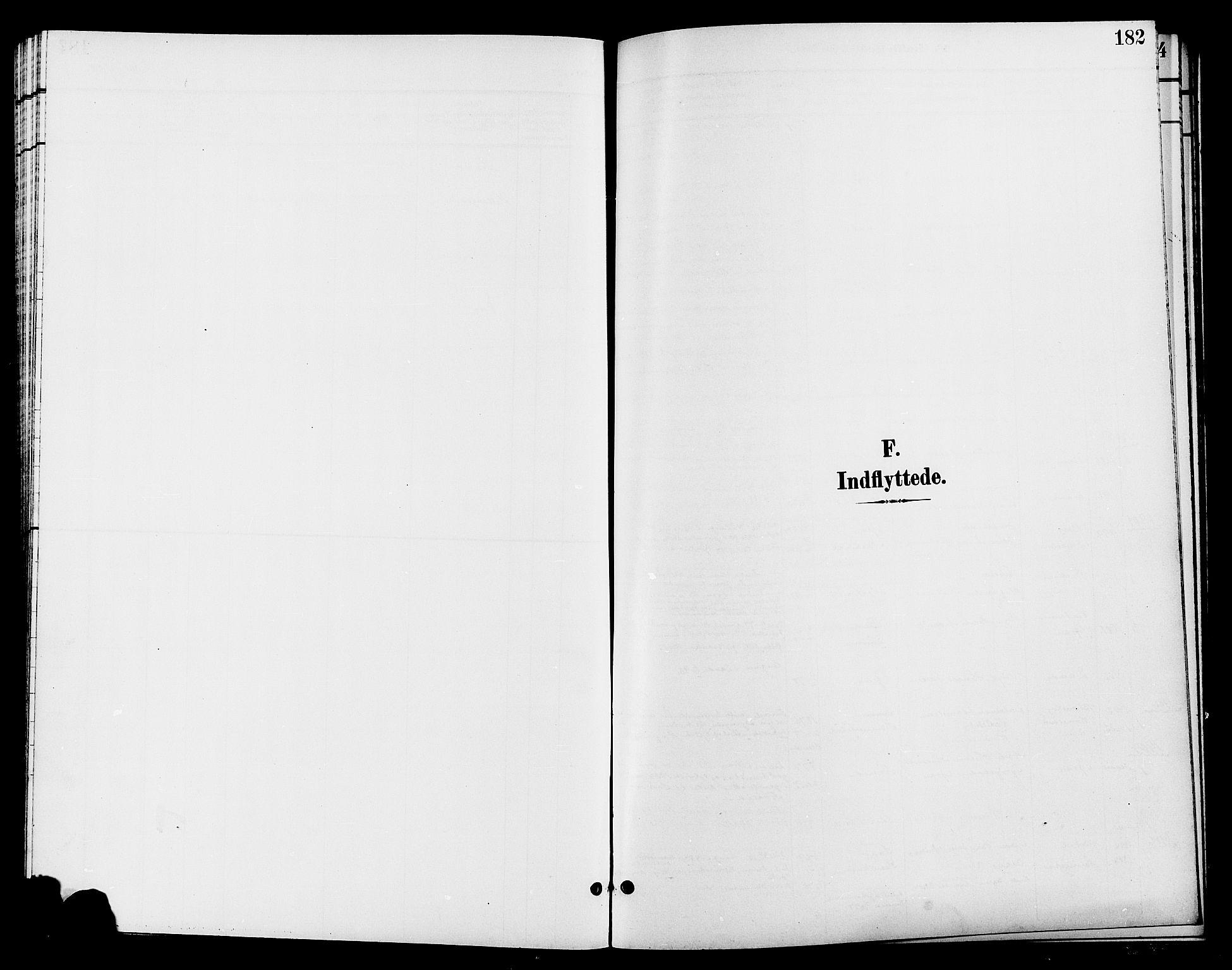 SAH, Jevnaker prestekontor, Klokkerbok nr. 3, 1896-1909, s. 182