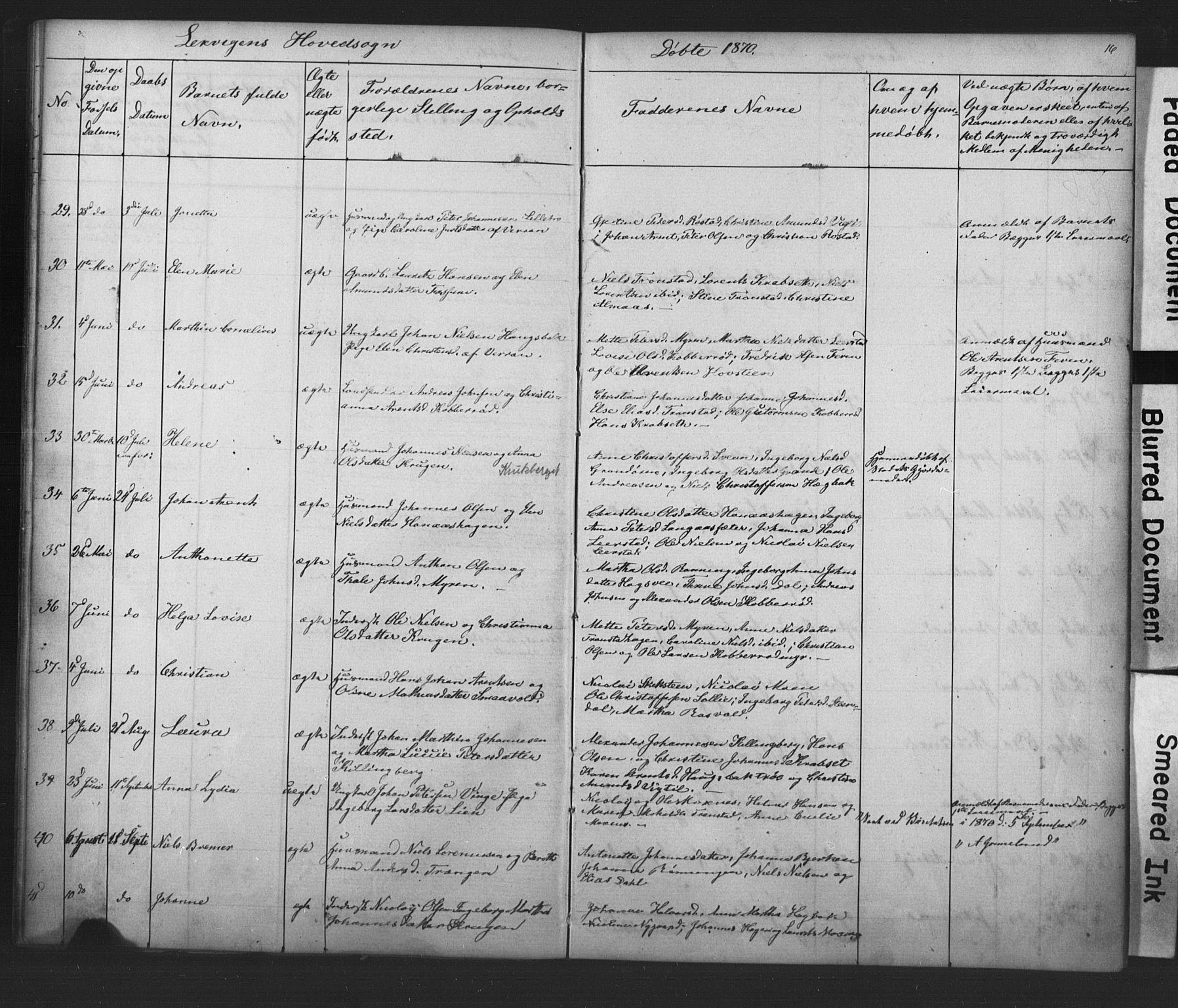 SAT, Ministerialprotokoller, klokkerbøker og fødselsregistre - Nord-Trøndelag, 701/L0018: Klokkerbok nr. 701C02, 1868-1872, s. 16