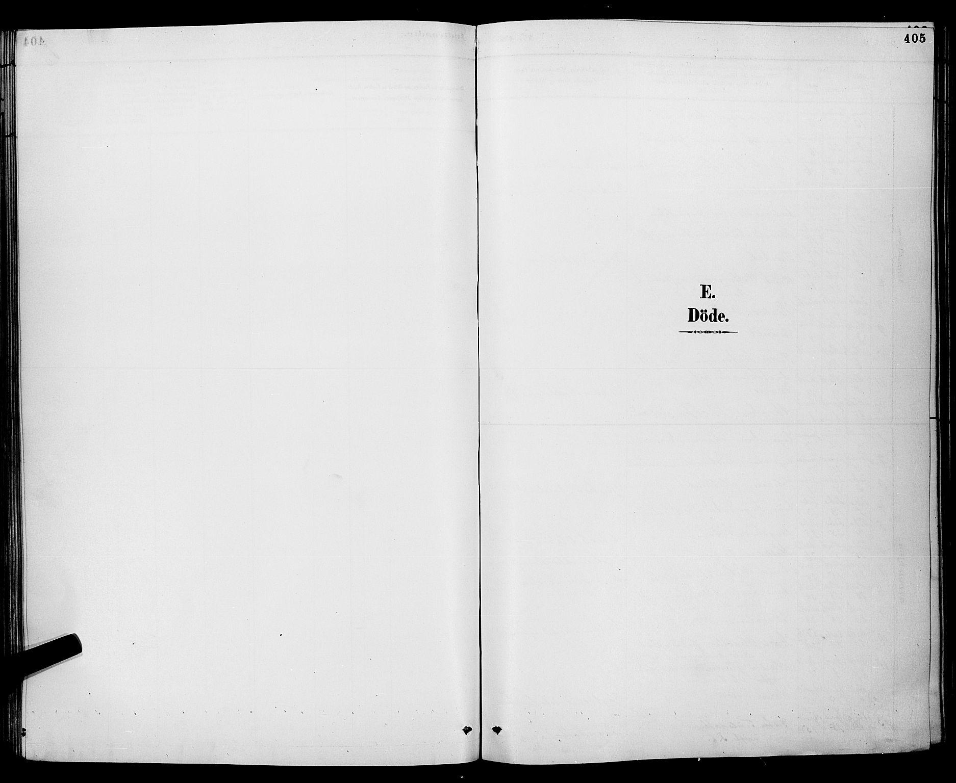 SAKO, Gjerpen kirkebøker, G/Ga/L0002: Klokkerbok nr. I 2, 1883-1900, s. 405