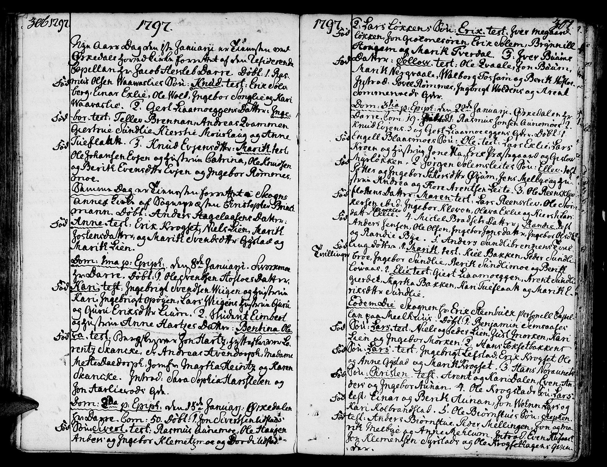 SAT, Ministerialprotokoller, klokkerbøker og fødselsregistre - Sør-Trøndelag, 668/L0802: Ministerialbok nr. 668A02, 1776-1799, s. 306-307
