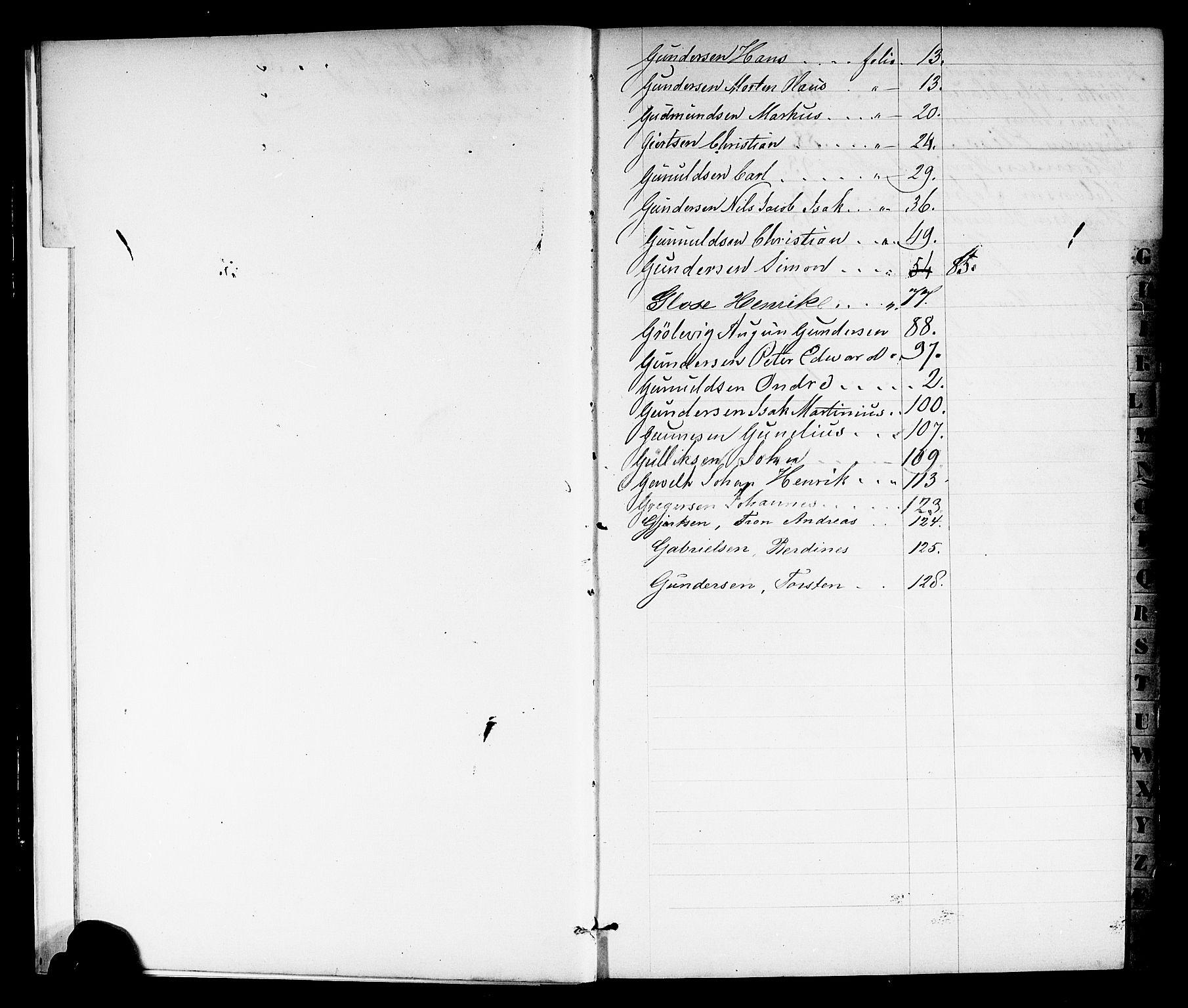 SAKO, Porsgrunn innrulleringskontor, F/Fb/L0001: Annotasjonsrulle, 1860-1868, s. 9