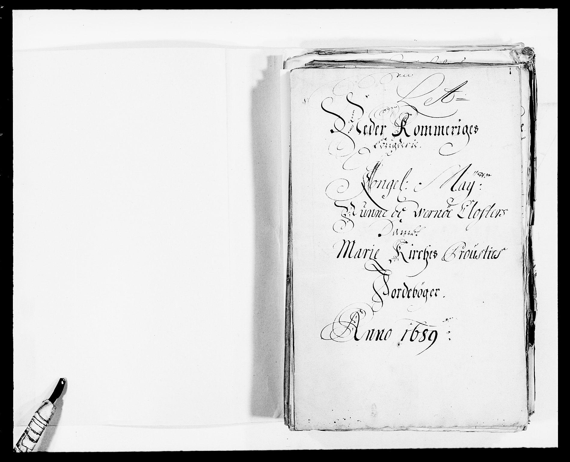 RA, Rentekammeret inntil 1814, Reviderte regnskaper, Fogderegnskap, R11/L0574: Fogderegnskap Nedre Romerike, 1689-1690, s. 2