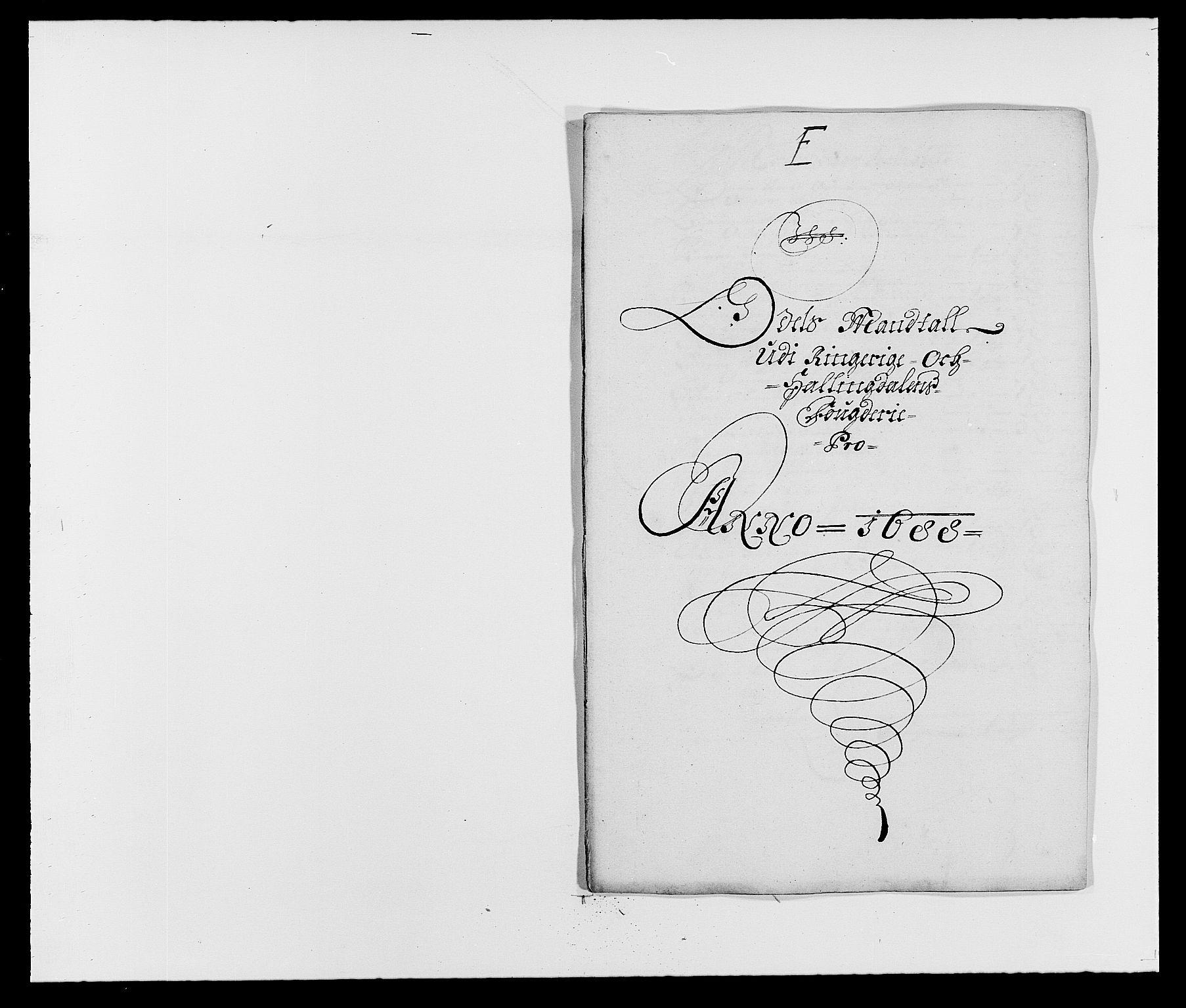RA, Rentekammeret inntil 1814, Reviderte regnskaper, Fogderegnskap, R21/L1447: Fogderegnskap Ringerike og Hallingdal, 1687-1689, s. 164