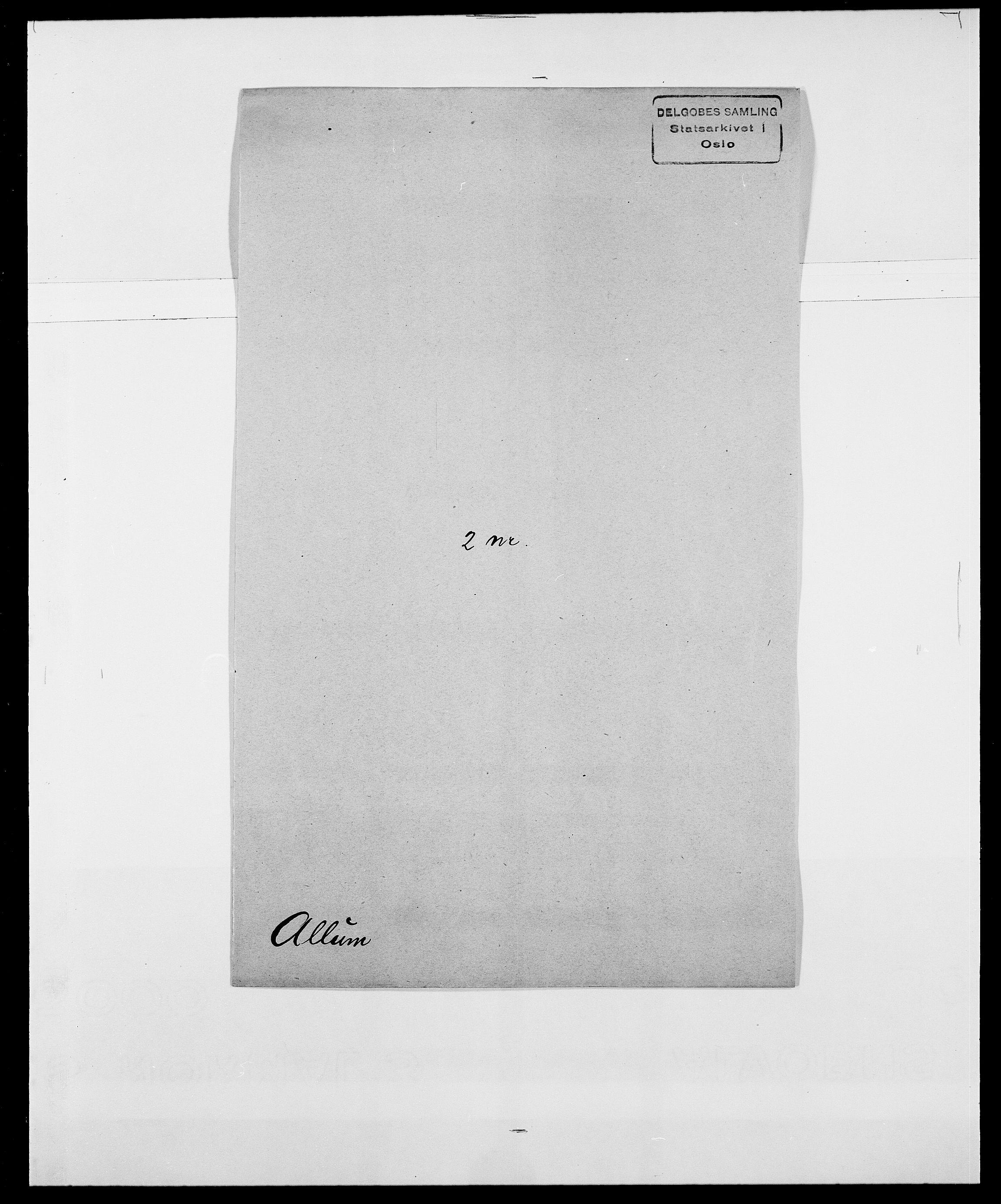 SAO, Delgobe, Charles Antoine - samling, D/Da/L0001: Aabye - Angerman, s. 428