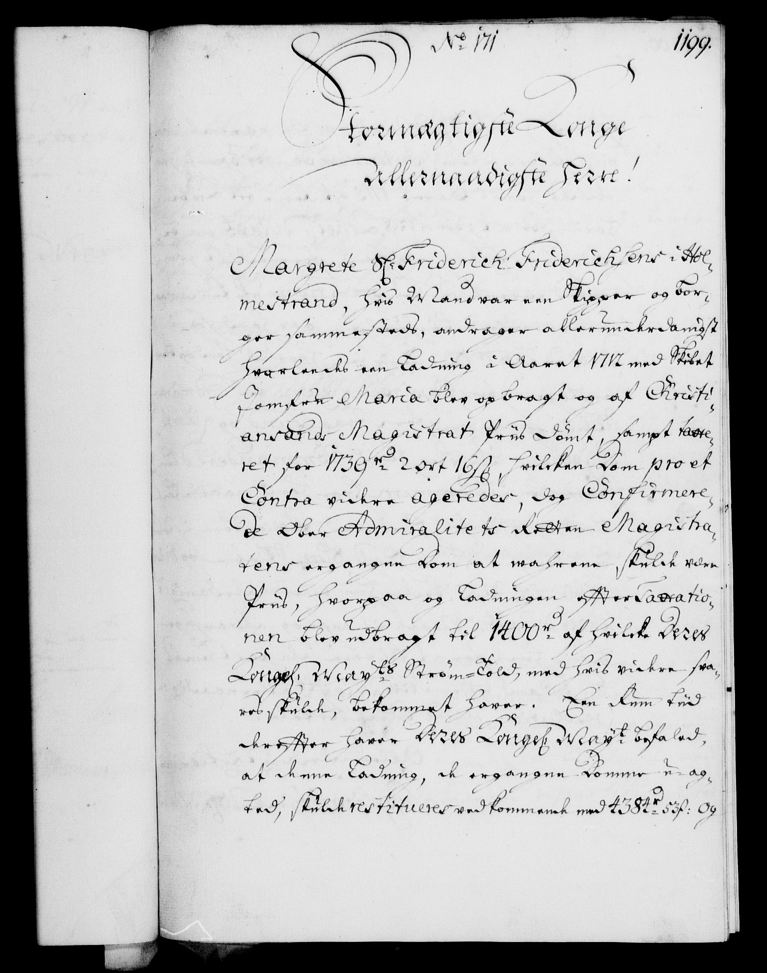 RA, Rentekammeret, Kammerkanselliet, G/Gf/Gfa/L0003: Norsk relasjons- og resolusjonsprotokoll (merket RK 52.3), 1720, s. 173