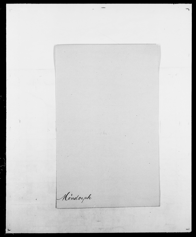 SAO, Delgobe, Charles Antoine - samling, D/Da/L0027: Morath - v. Møsting, s. 702