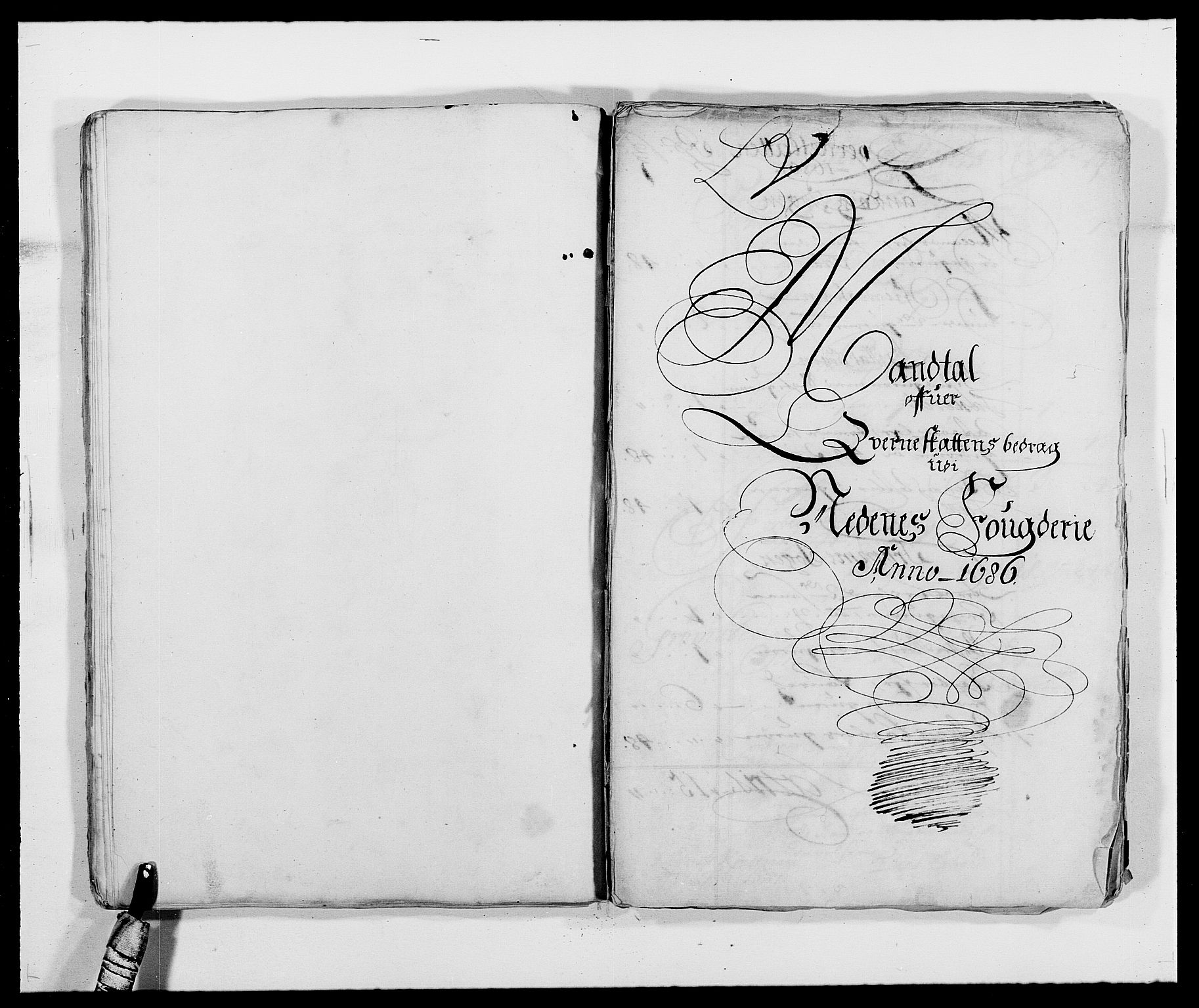 RA, Rentekammeret inntil 1814, Reviderte regnskaper, Fogderegnskap, R39/L2308: Fogderegnskap Nedenes, 1684-1689, s. 393