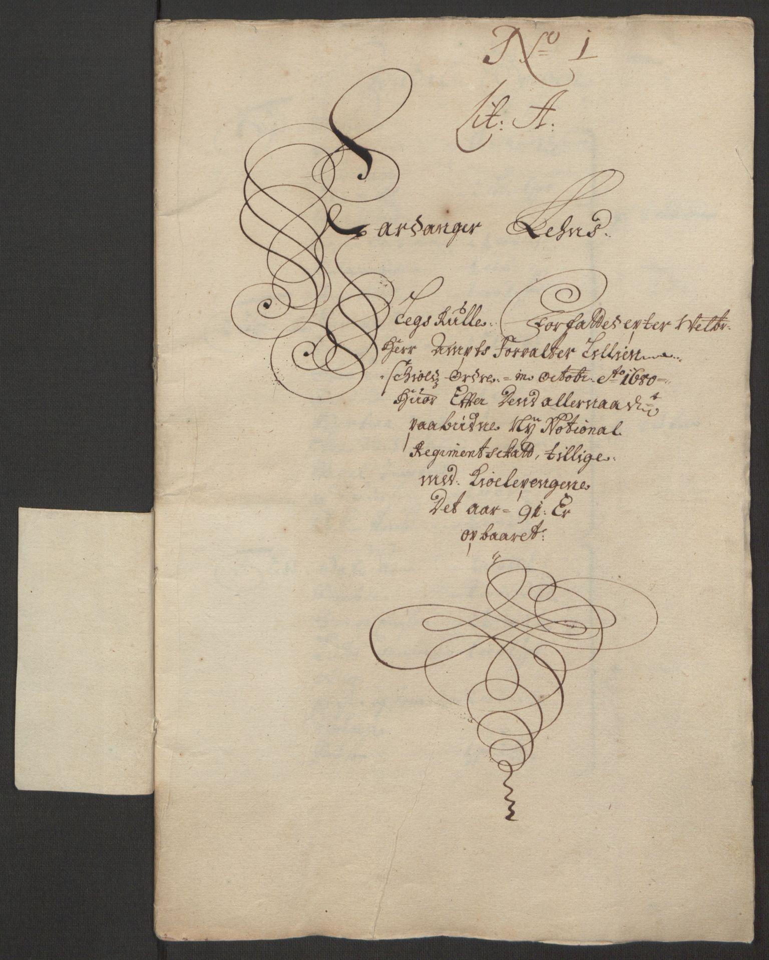 RA, Rentekammeret inntil 1814, Reviderte regnskaper, Fogderegnskap, R48/L2973: Fogderegnskap Sunnhordland og Hardanger, 1691-1692, s. 167