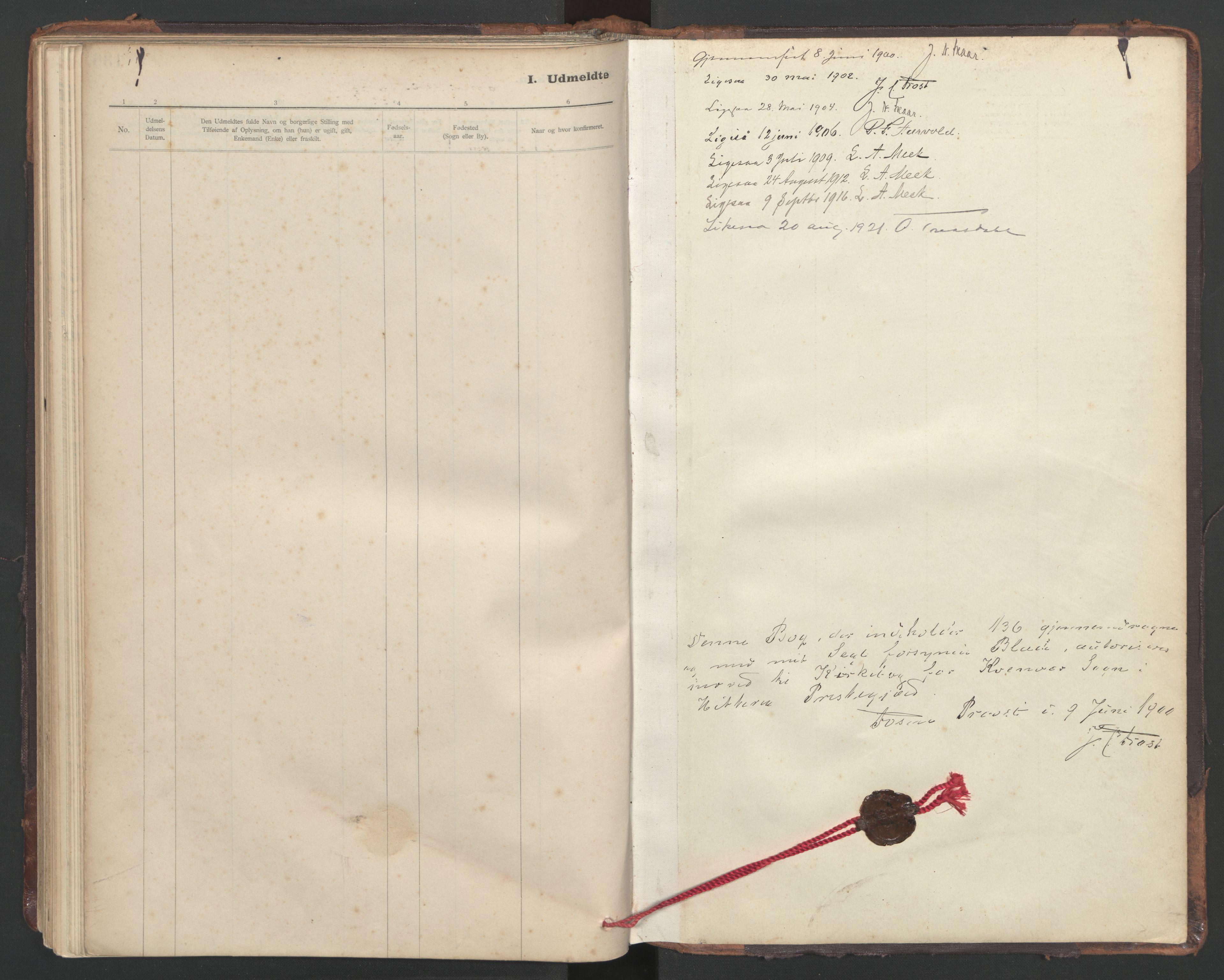 SAT, Ministerialprotokoller, klokkerbøker og fødselsregistre - Sør-Trøndelag, 635/L0552: Ministerialbok nr. 635A02, 1899-1919