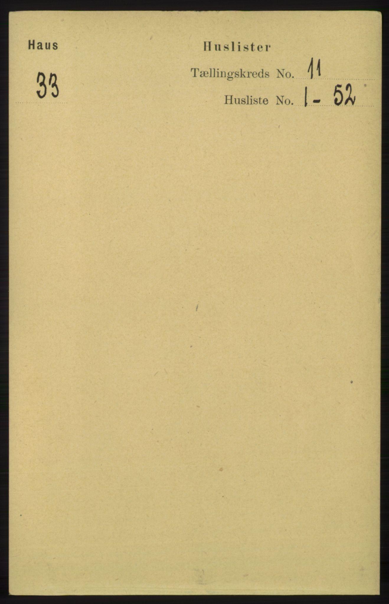 RA, Folketelling 1891 for 1250 Haus herred, 1891, s. 4271