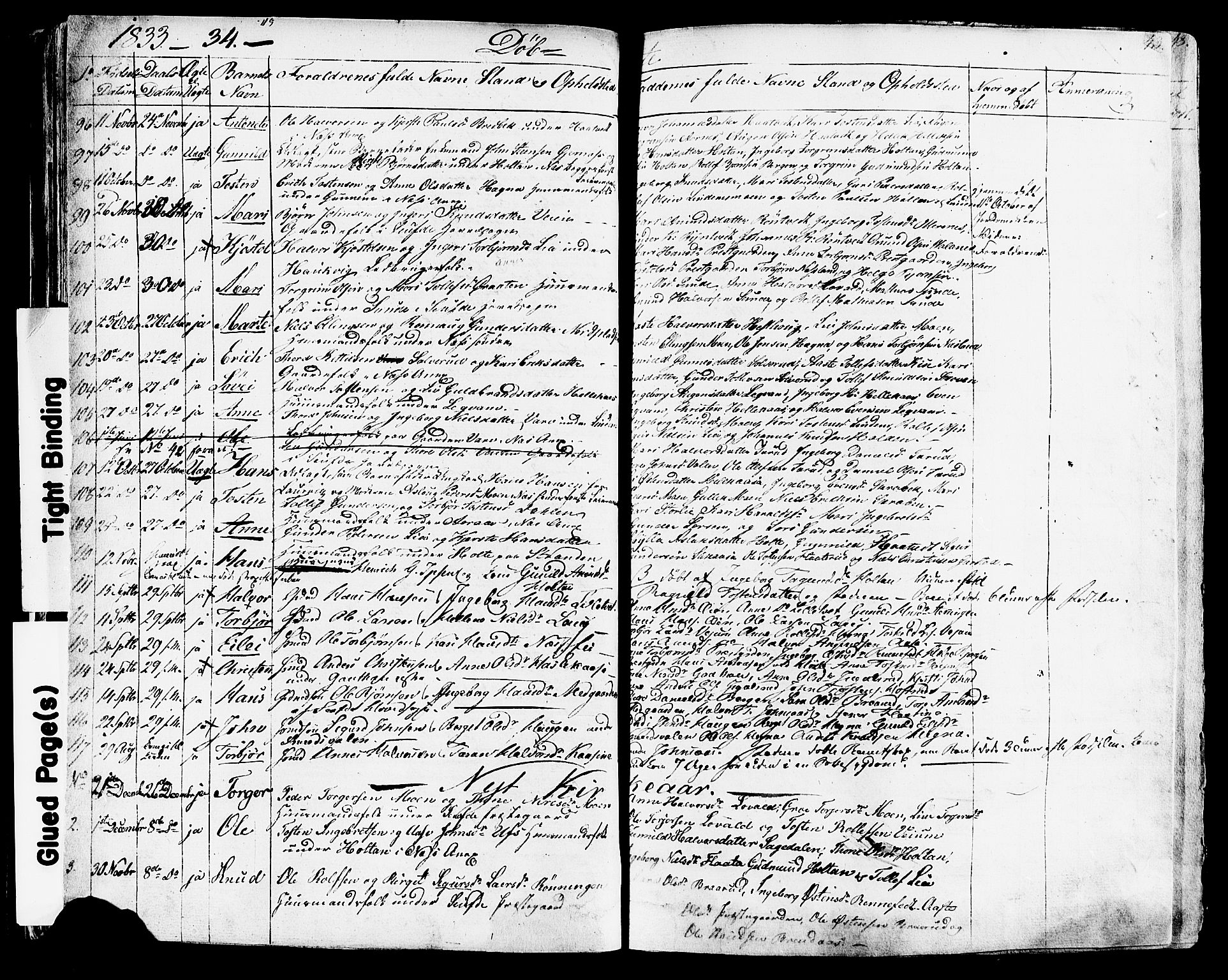 SAKO, Sauherad kirkebøker, F/Fa/L0006: Ministerialbok nr. I 6, 1827-1850, s. 43