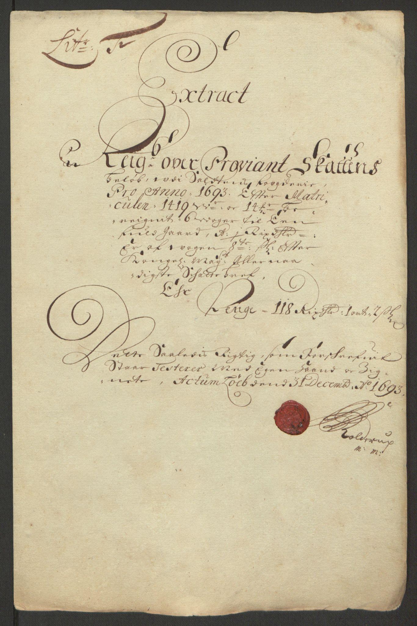 RA, Rentekammeret inntil 1814, Reviderte regnskaper, Fogderegnskap, R66/L4577: Fogderegnskap Salten, 1691-1693, s. 330